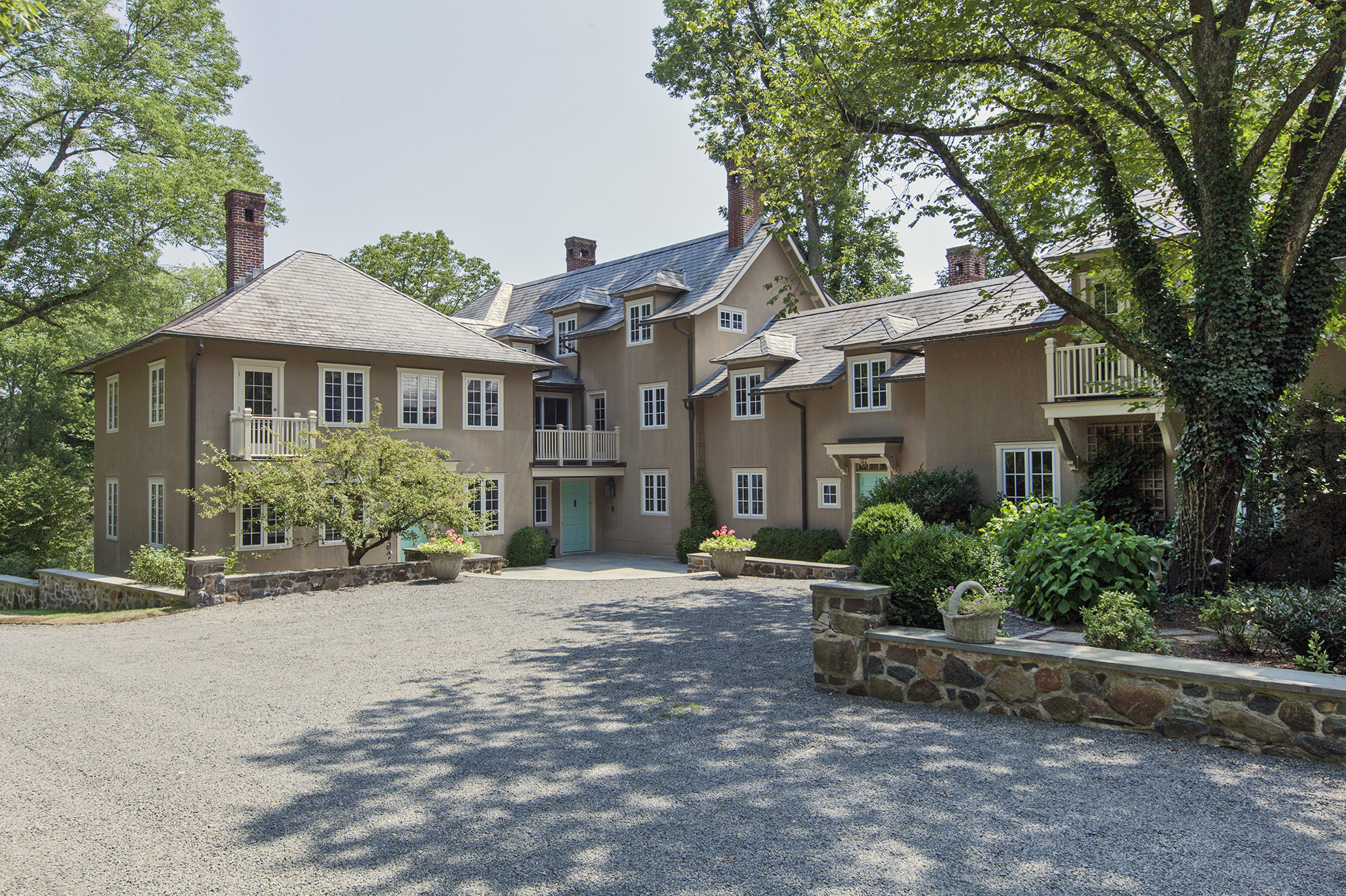 Maison unifamiliale pour l Vente à Country Estate in a Spectacular Setting 906 Great Road Princeton, New Jersey 08540 États-Unis