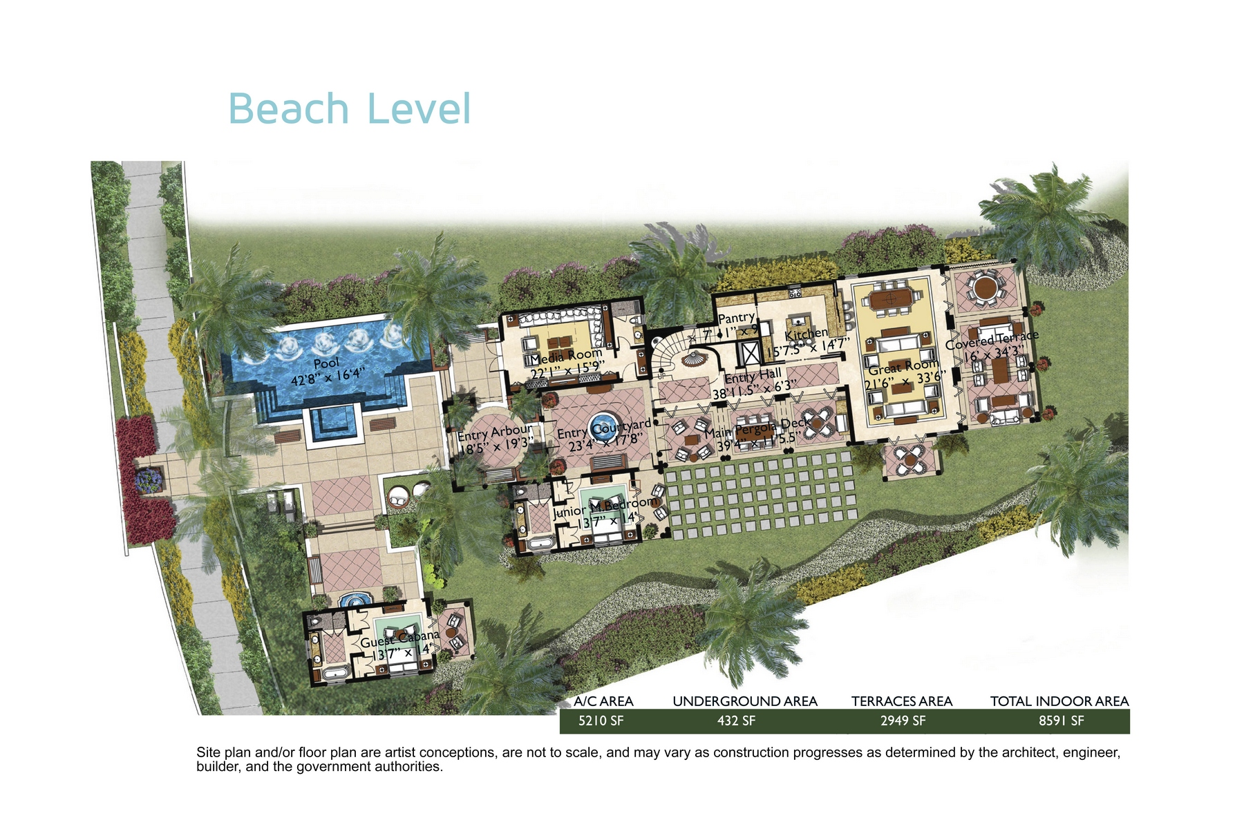 Additional photo for property listing at The Shore Club ~ Villa 6 The Shore Club, Long Bay, Providenciales Îles Turques Et Caïques