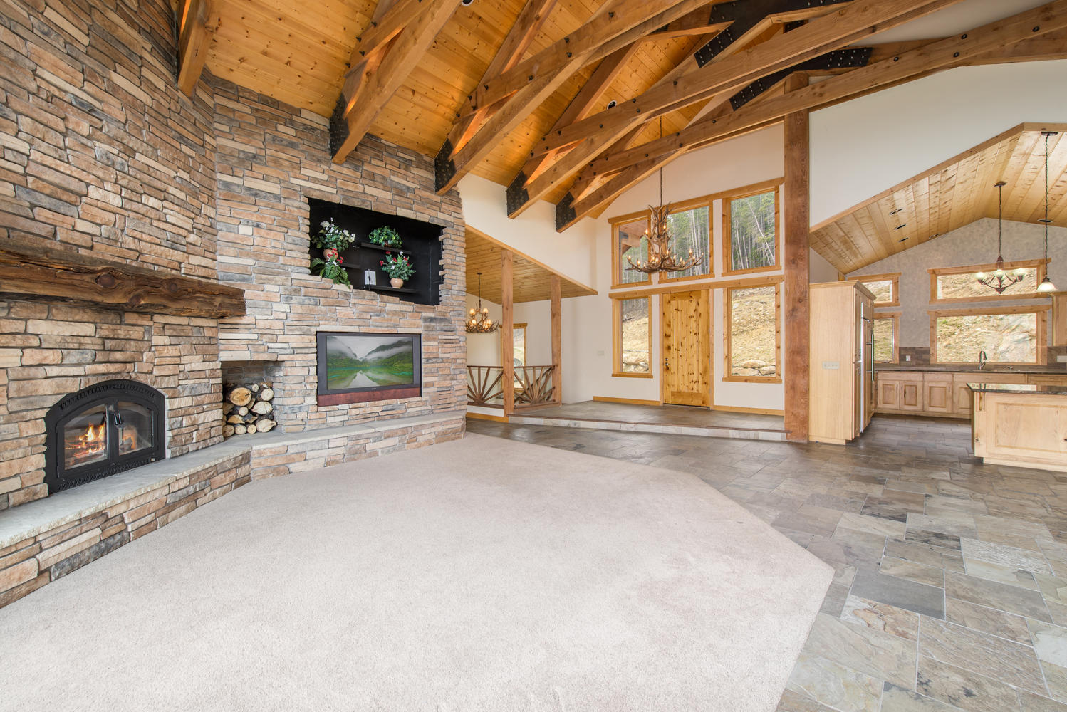 sales property at Majestic snow capped Continental Divide views