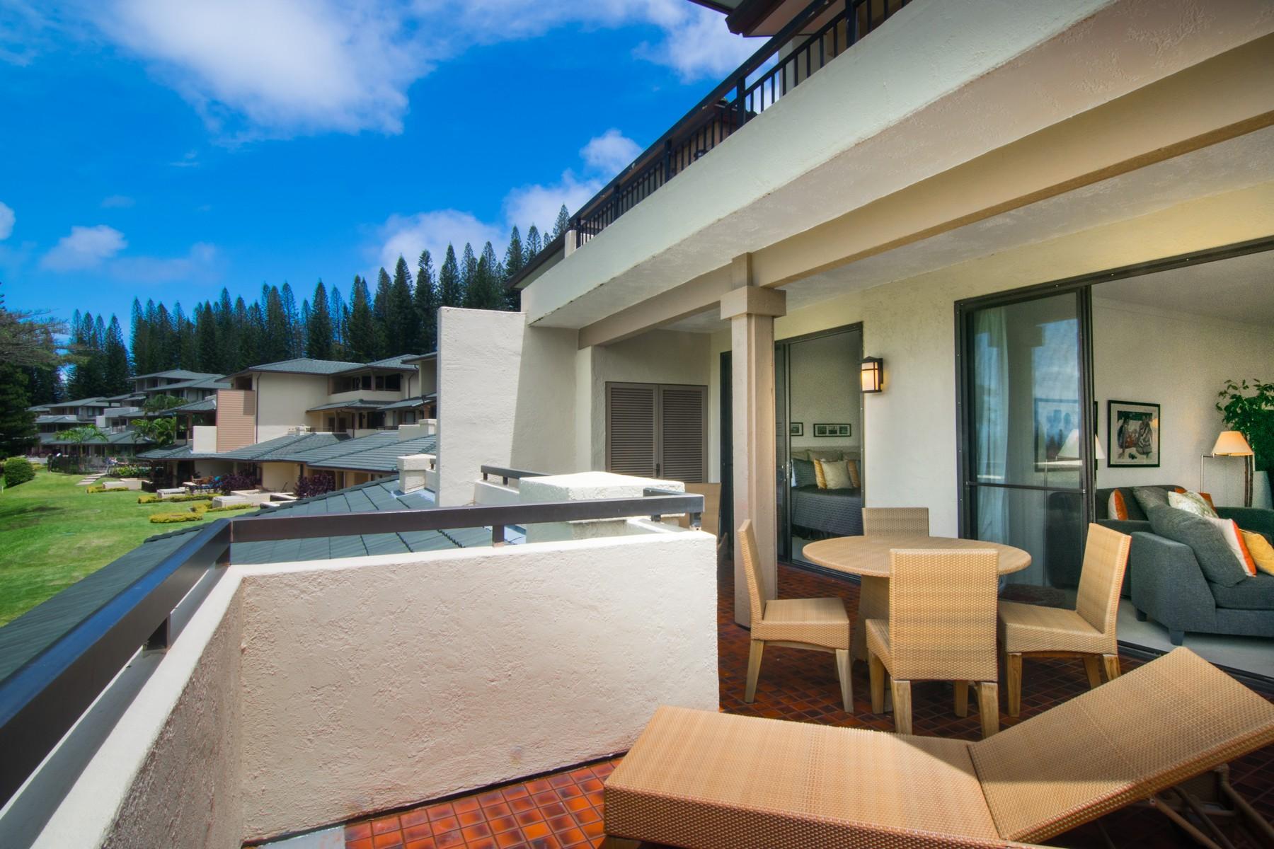 コンドミニアム のために 売買 アット European Inspired One Bedroom Fairway View Golf Villa 500 Kapalua Drive, Kapalua Golf Villas 15T5, 6 Kapalua, ハワイ, 96761 アメリカ合衆国