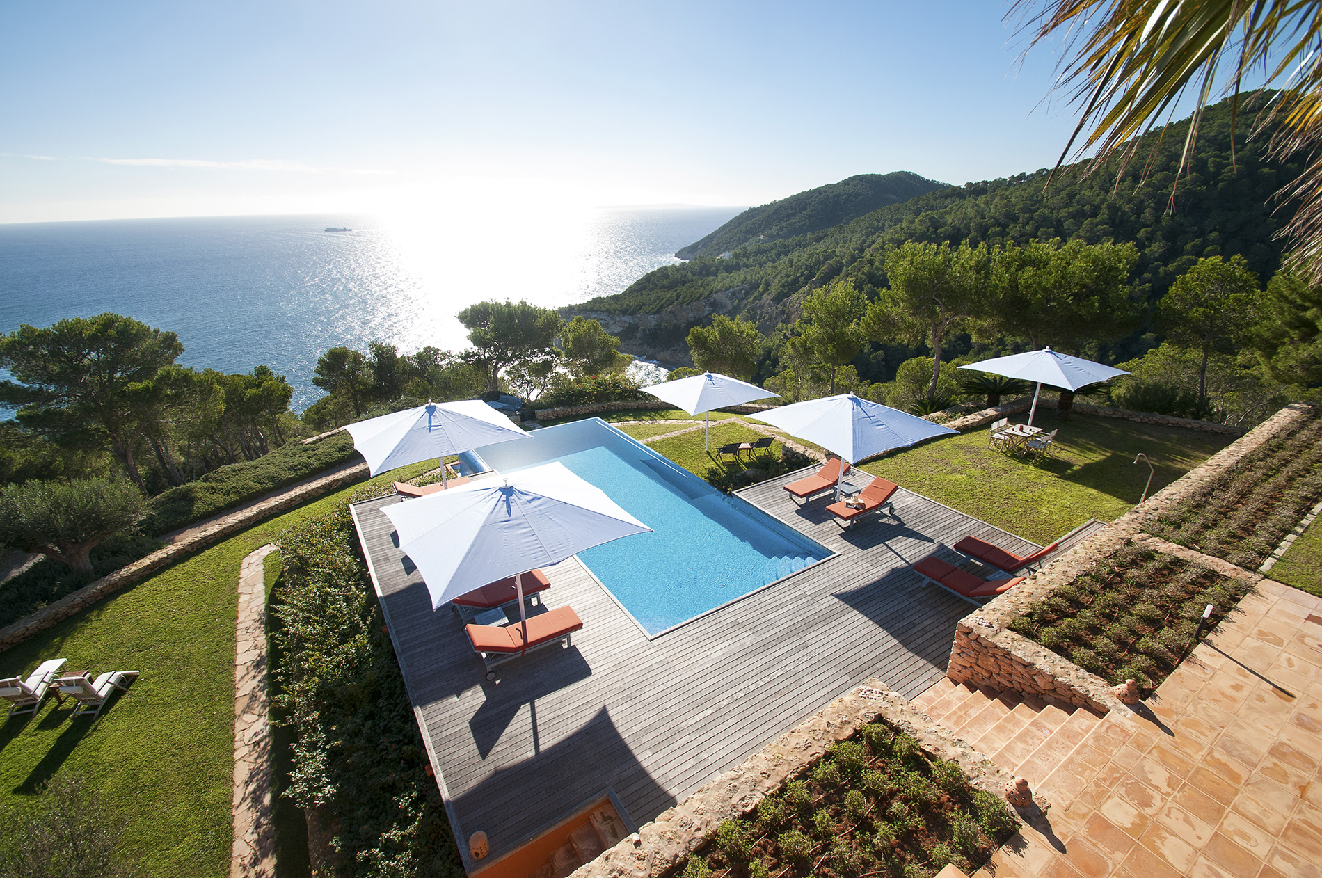独户住宅 为 销售 在 Rustic Villa With Breathtaking Sea Views Santa Eulalia, 西亚特 07819 西班牙