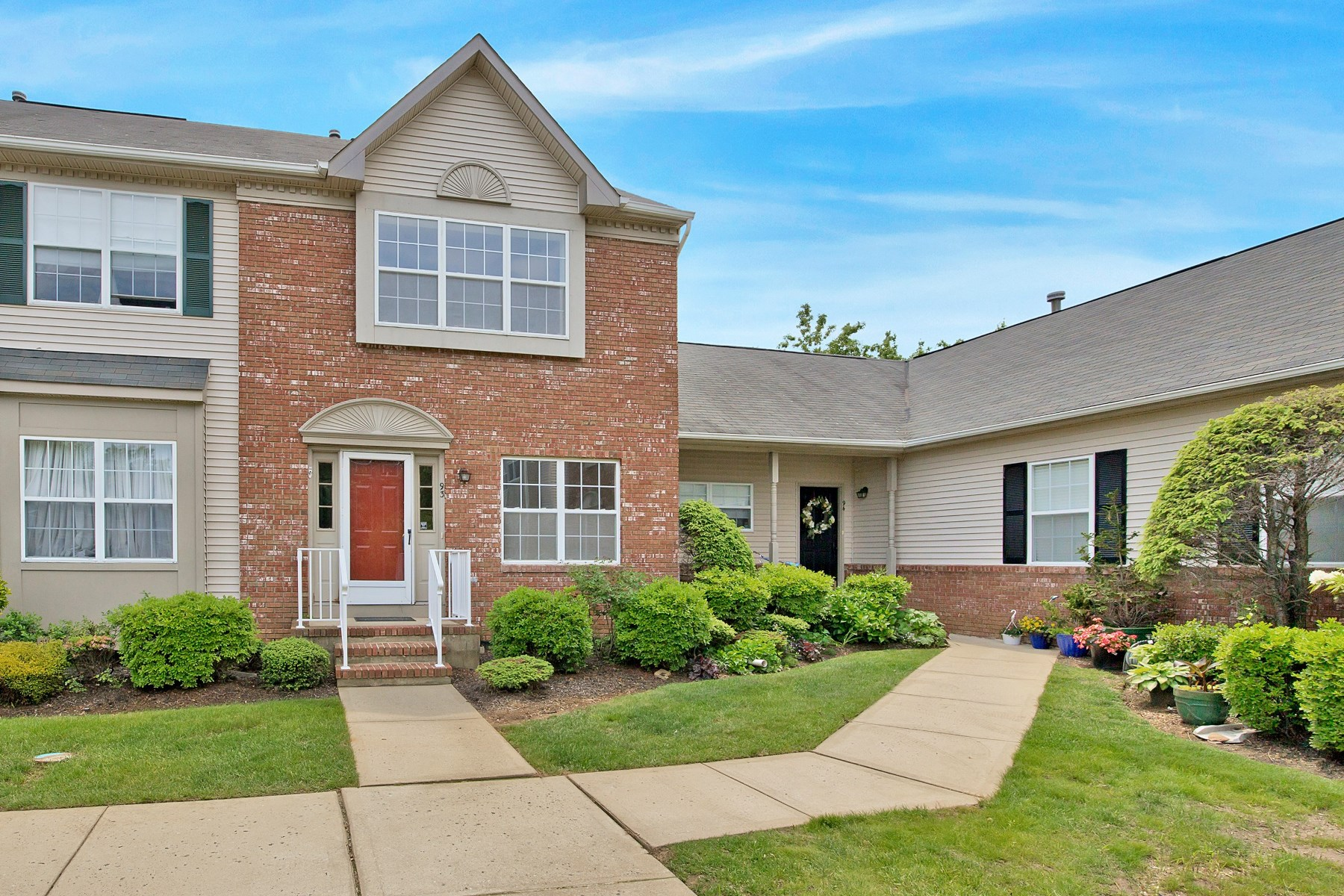 Townhouse for Sale at Wonderfully located Townhouse 93 Cranbrook Ct Holmdel, New Jersey 07733 United States