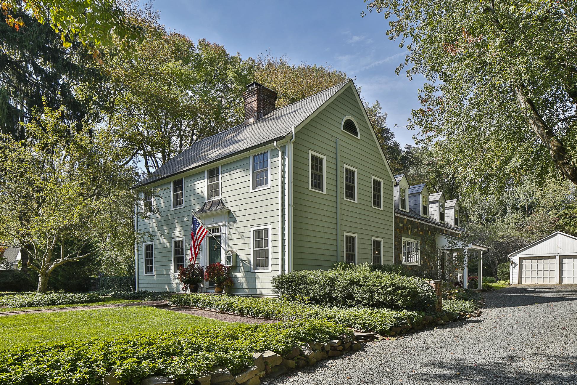 独户住宅 为 销售 在 Designed by a Master as his own Private Residence 1 Ober Road Princeton, 新泽西州 08540 美国