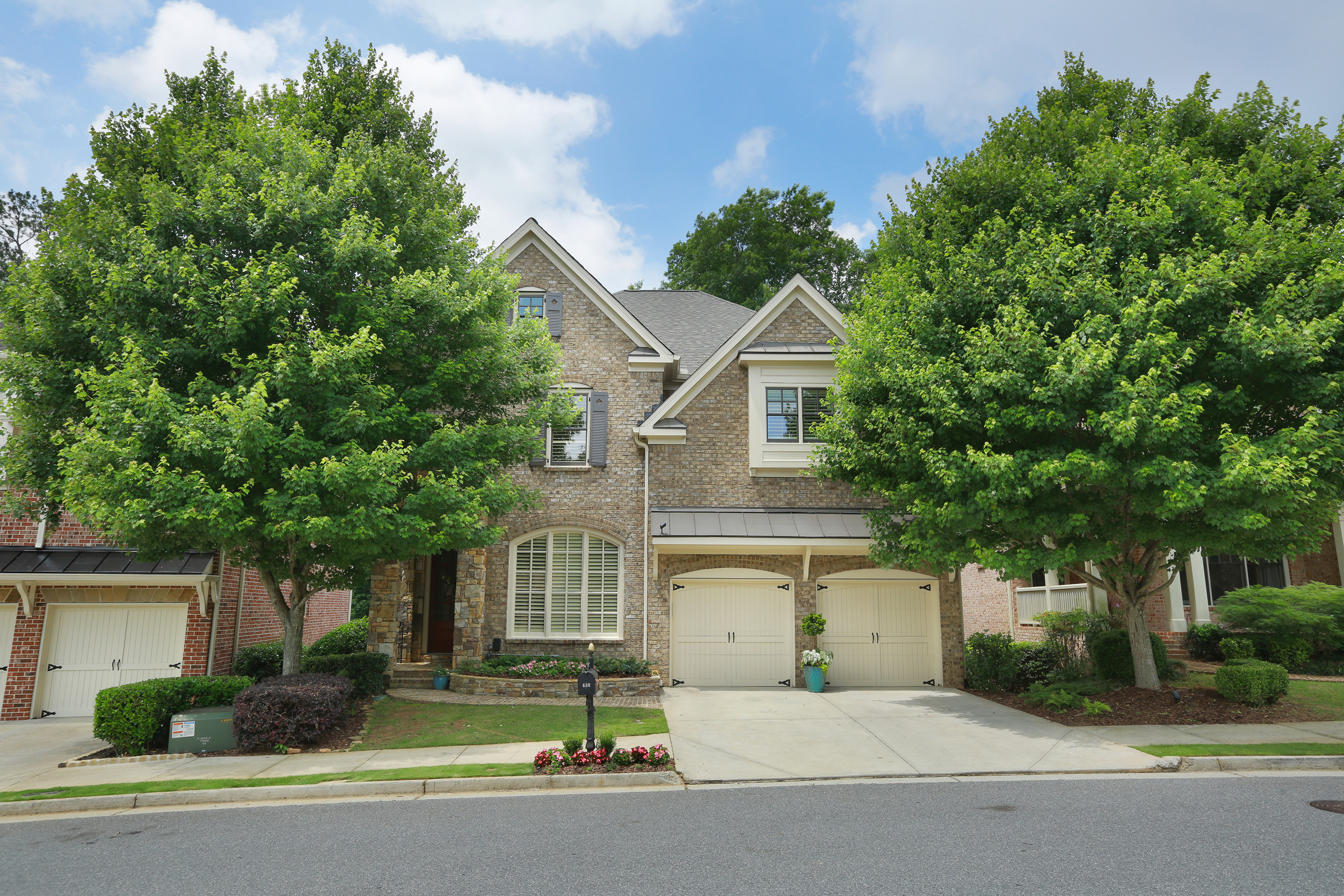 Property For Sale at Immaculate Home Overlooks Alpharetta's Greenway