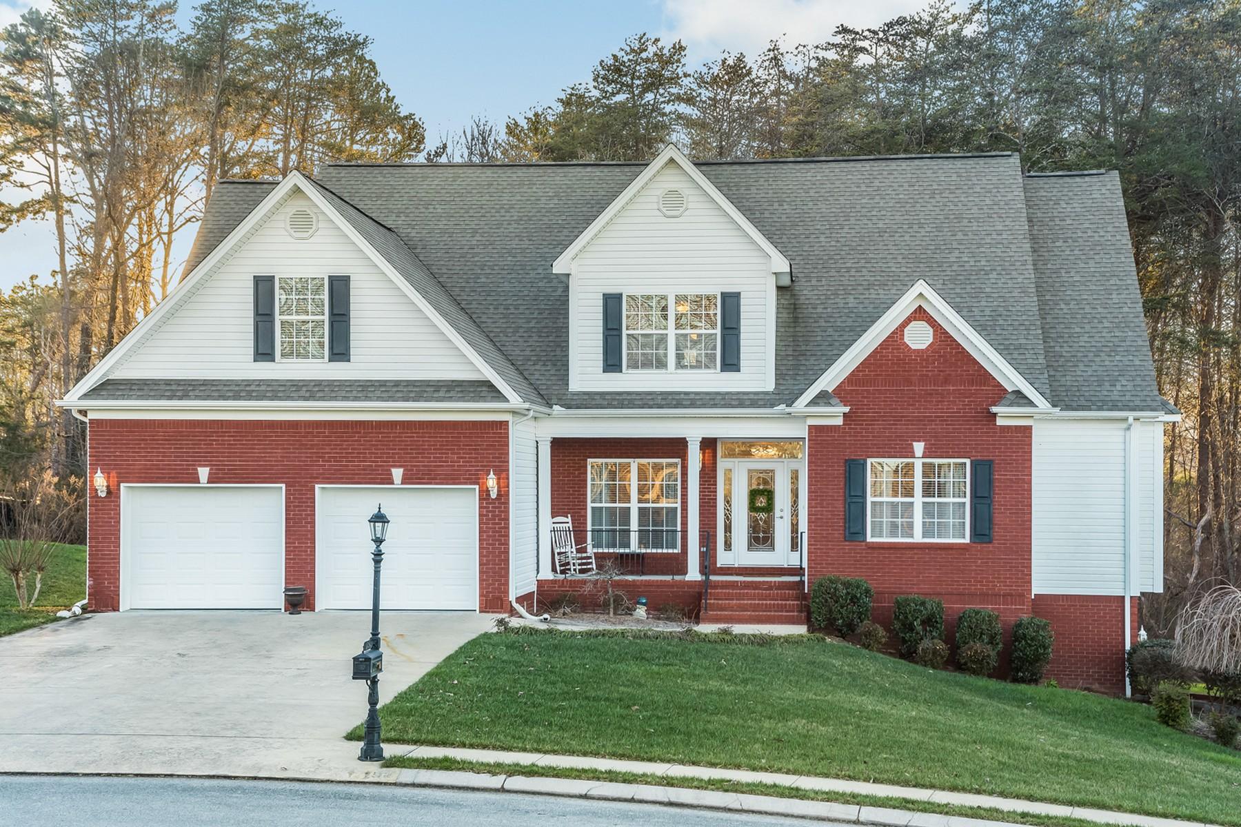 獨棟家庭住宅 為 出售 在 Lennox Pointe Traditional 12373 Nee Cee Drive Soddy Daisy, 田納西州 37379 美國