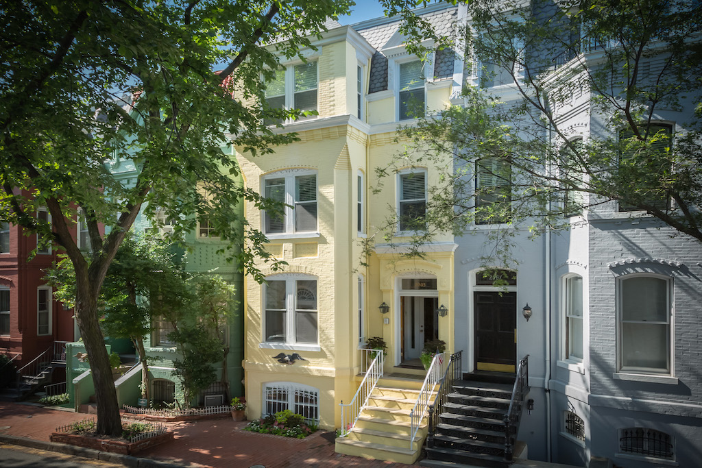 Townhouse for Sale at Georgetown 2903 Q Street Nw Washington, District Of Columbia 20007 United States