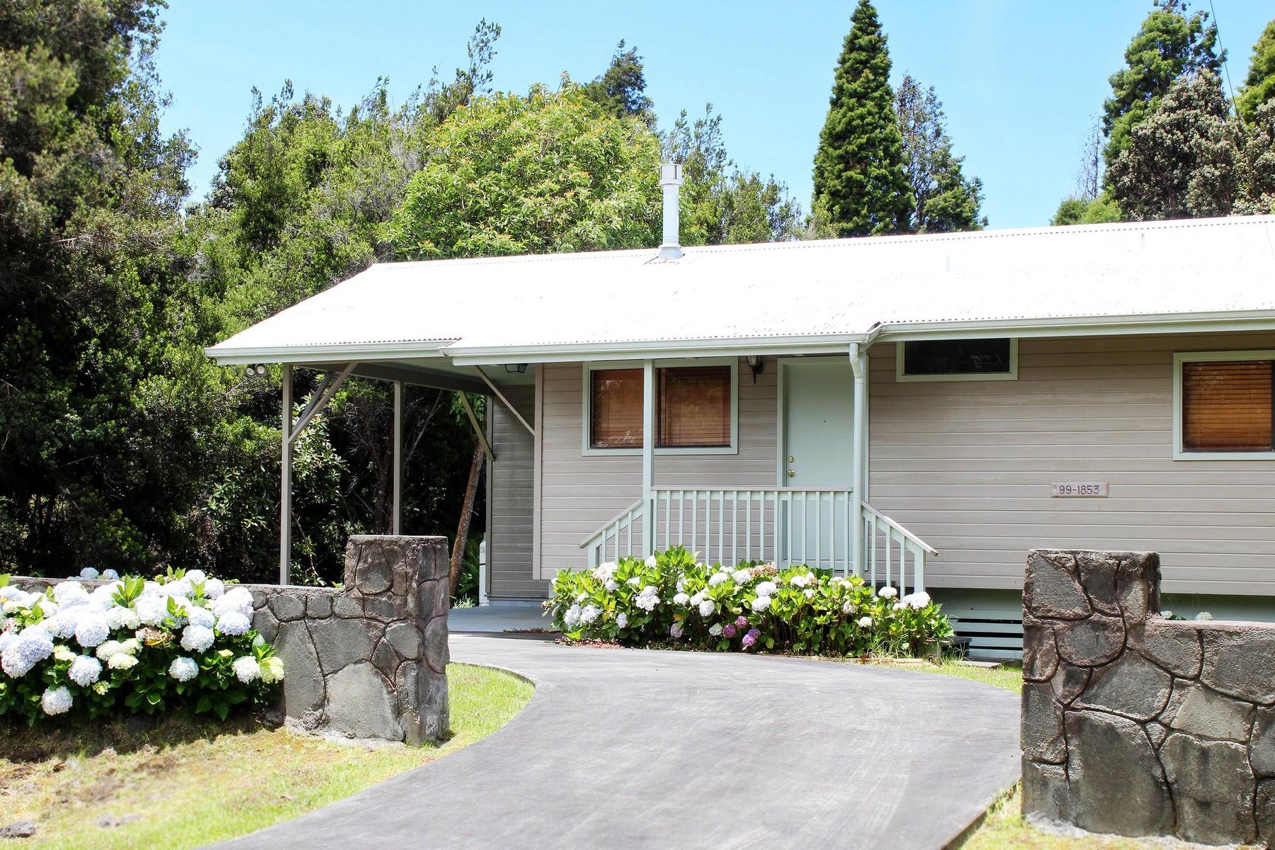 Einfamilienhaus für Verkauf beim Volcano Golf & Country Club 99-1853 Painui Lp Volcano, Hawaii 96785 Vereinigte Staaten
