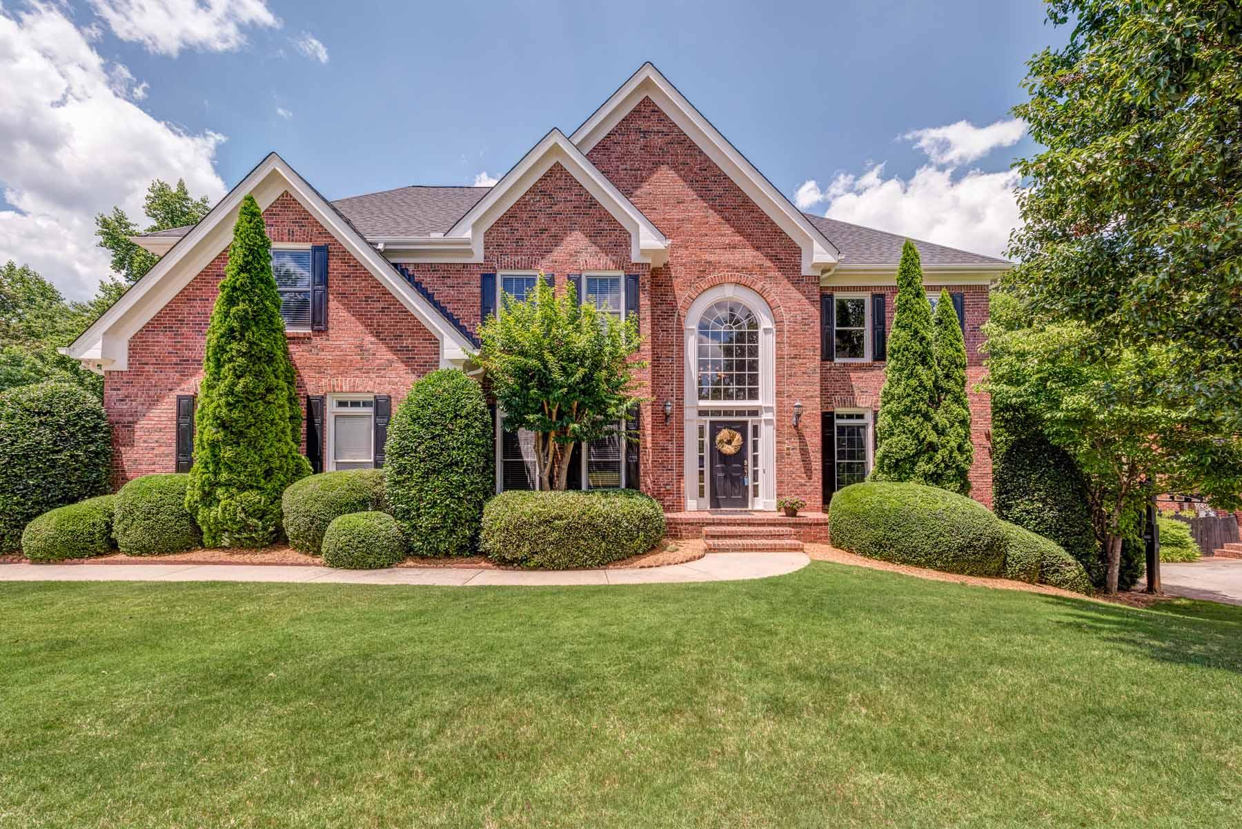 獨棟家庭住宅 為 出售 在 Beautiful Four Sides Brick Home in Alpharetta 4715 Park Brooke Trace Alpharetta, 喬治亞州, 30023 美國