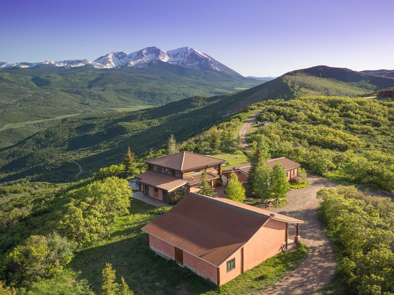 Single Family Home for Sale at West Sopris Creek 2000 Stone Road Basalt, Colorado 81621 United States