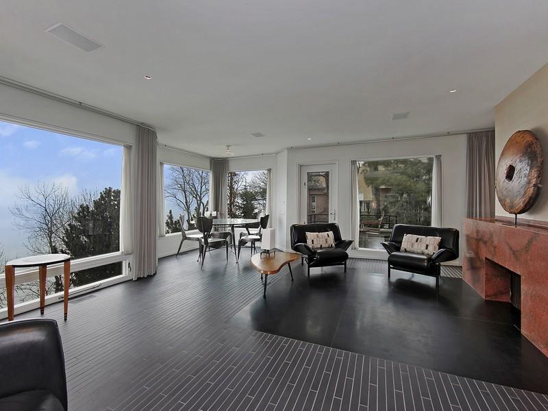 獨棟家庭住宅 為 出售 在 Zen-sational Contemporary Beach Home 1134 Taylorsport Ln Winnetka, 伊利諾斯州 60093 美國