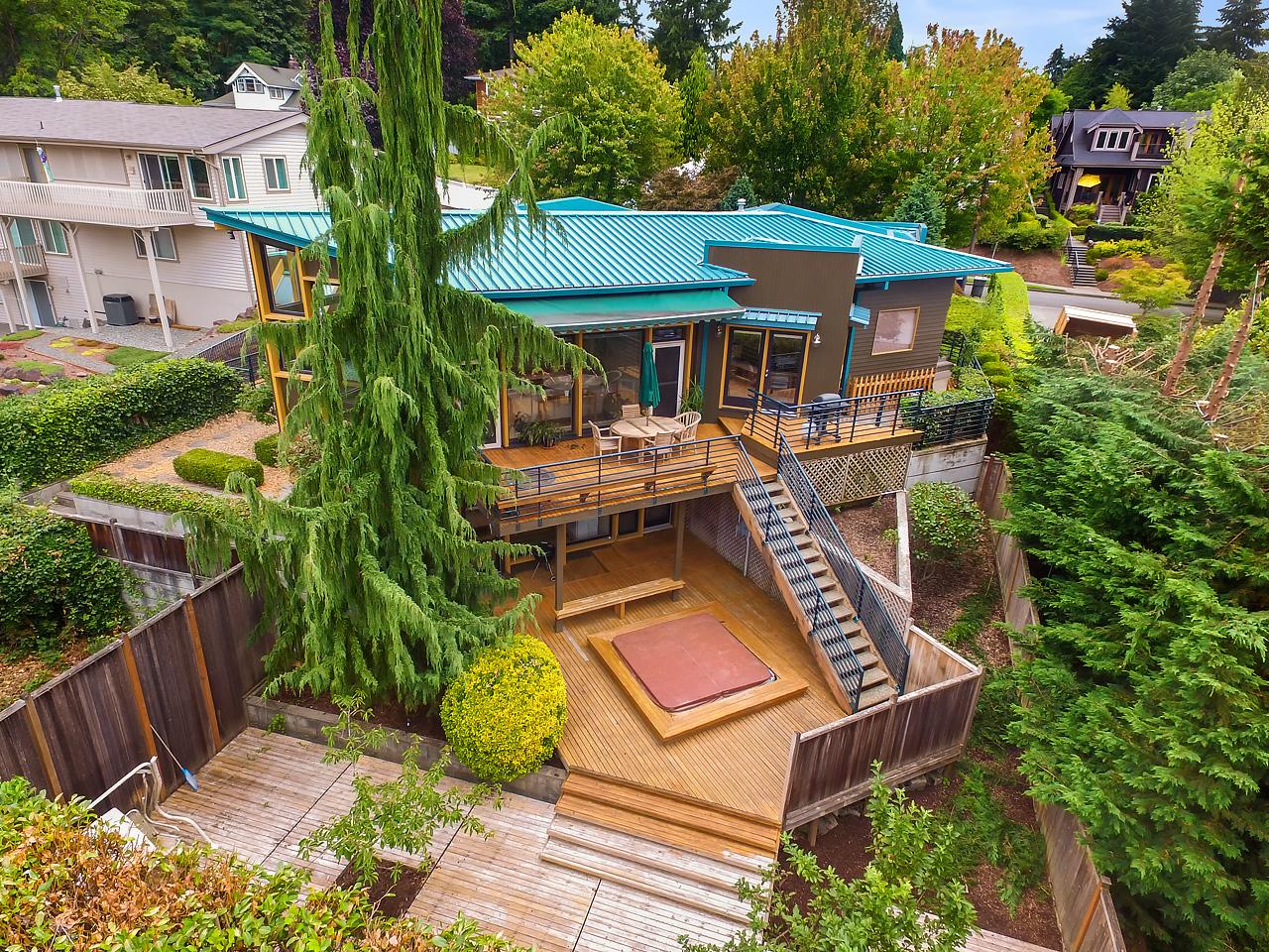 Vivienda unifamiliar por un Venta en Contemporary NW Design 11107 101st Place NE Kirkland, Washington, 98033 Estados Unidos