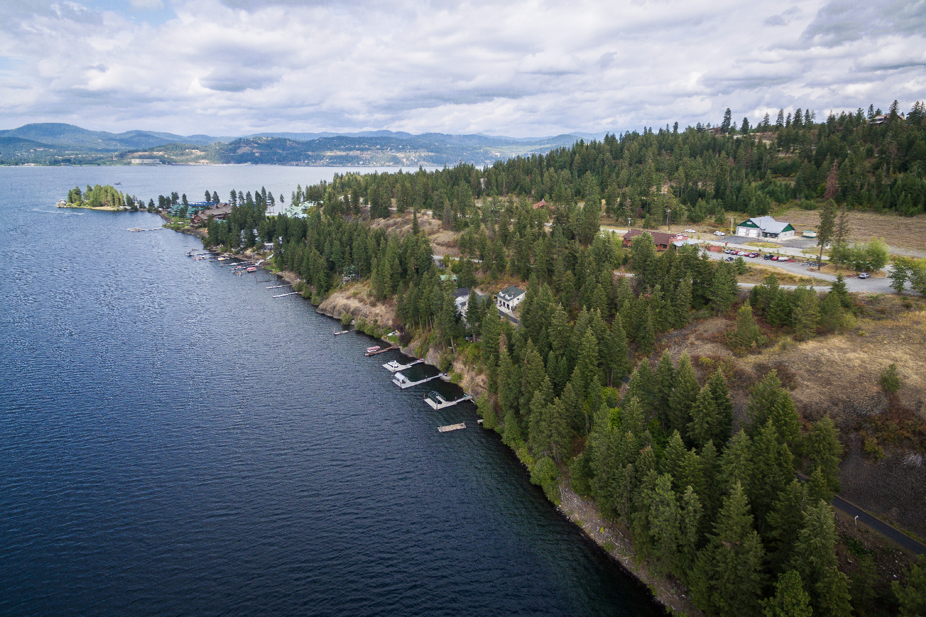 Terreno para Venda às Vacant Land with waterfront views 5445 S Catamaran Dr Harrison, Idaho, 83833 Estados Unidos