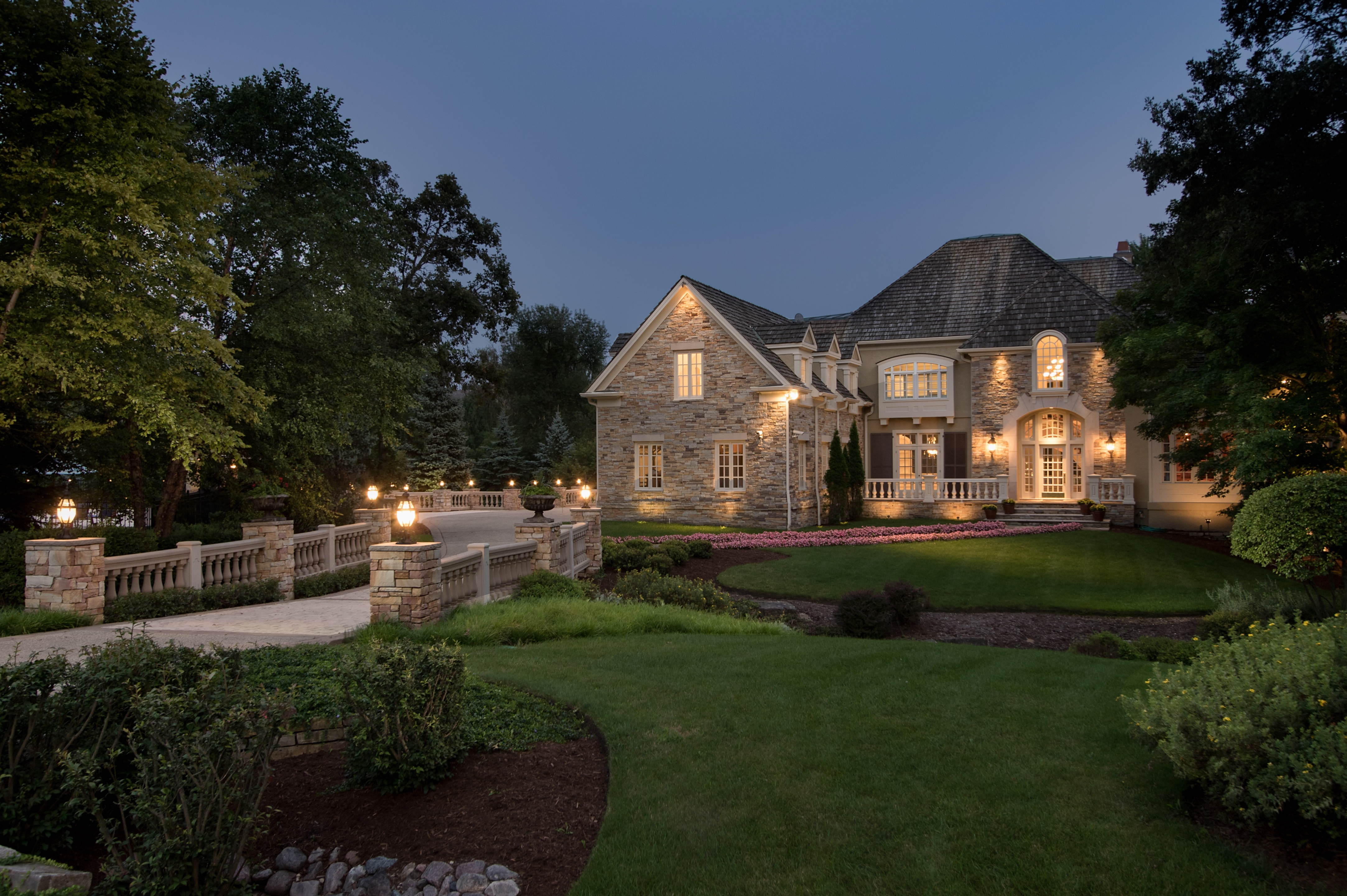 Single Family Home for Sale at Magnificent Wynstone Estate 77 Hillburn Lane North Barrington, Illinois, 60010 United States