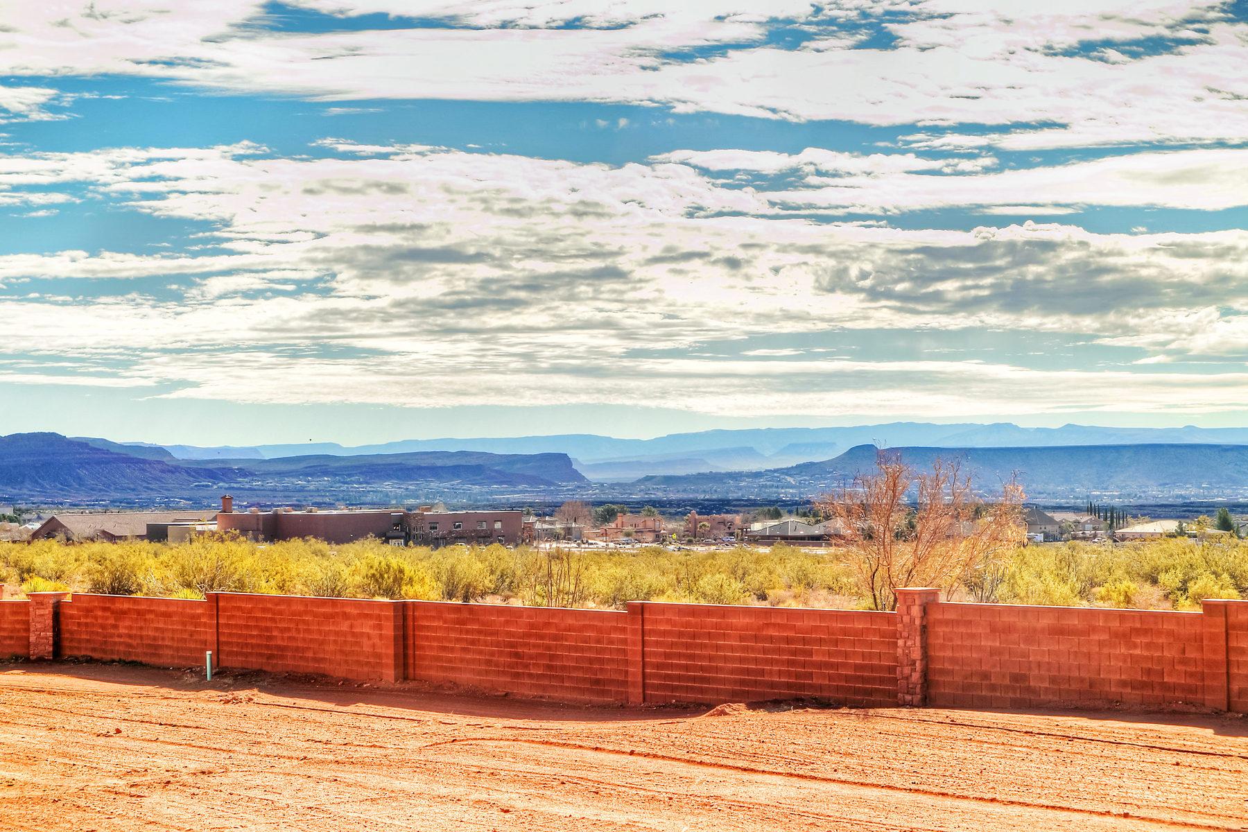 Đất đai vì Bán tại Red Mountain Estate View lot Lot 3 Red Mountain Estates Ivins, Utah 84738 Hoa Kỳ