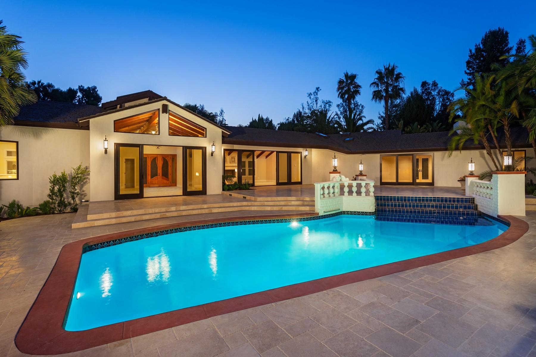 Villa per Vendita alle ore 4810 La Jacaranda Rancho Santa Fe, California 92067 Stati Uniti