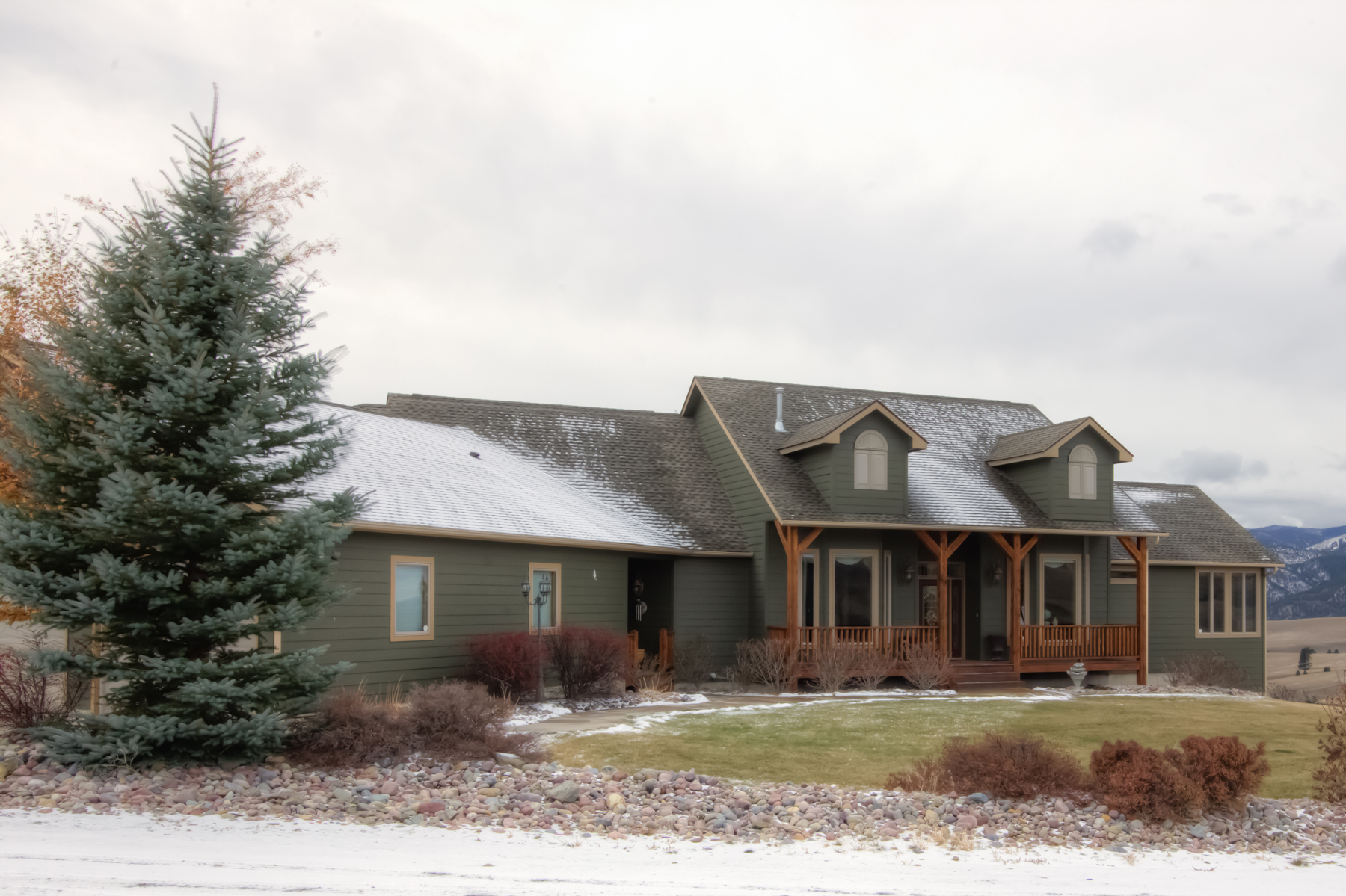 Maison unifamiliale pour l Vente à 3105 Evans Ridge Road Missoula, Montana 59803 États-Unis