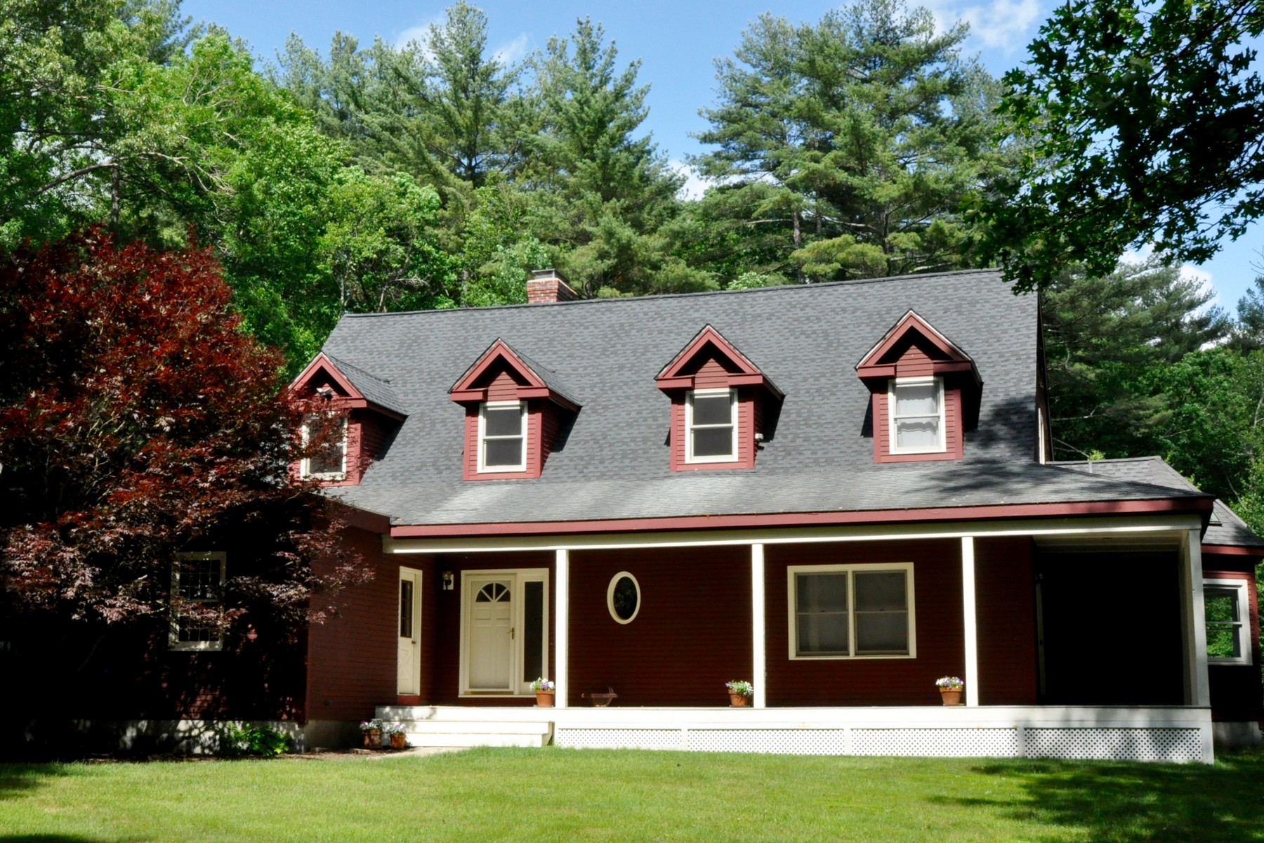 sales property at Beautiful Farmhouse Nestled in the Woods
