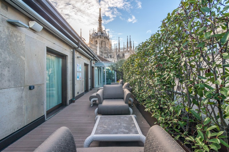 Single Family Home for Sale at Exclusive penthouse a short walk from Duomo's steeples Galleria Pattari Milano, 20121 Italy