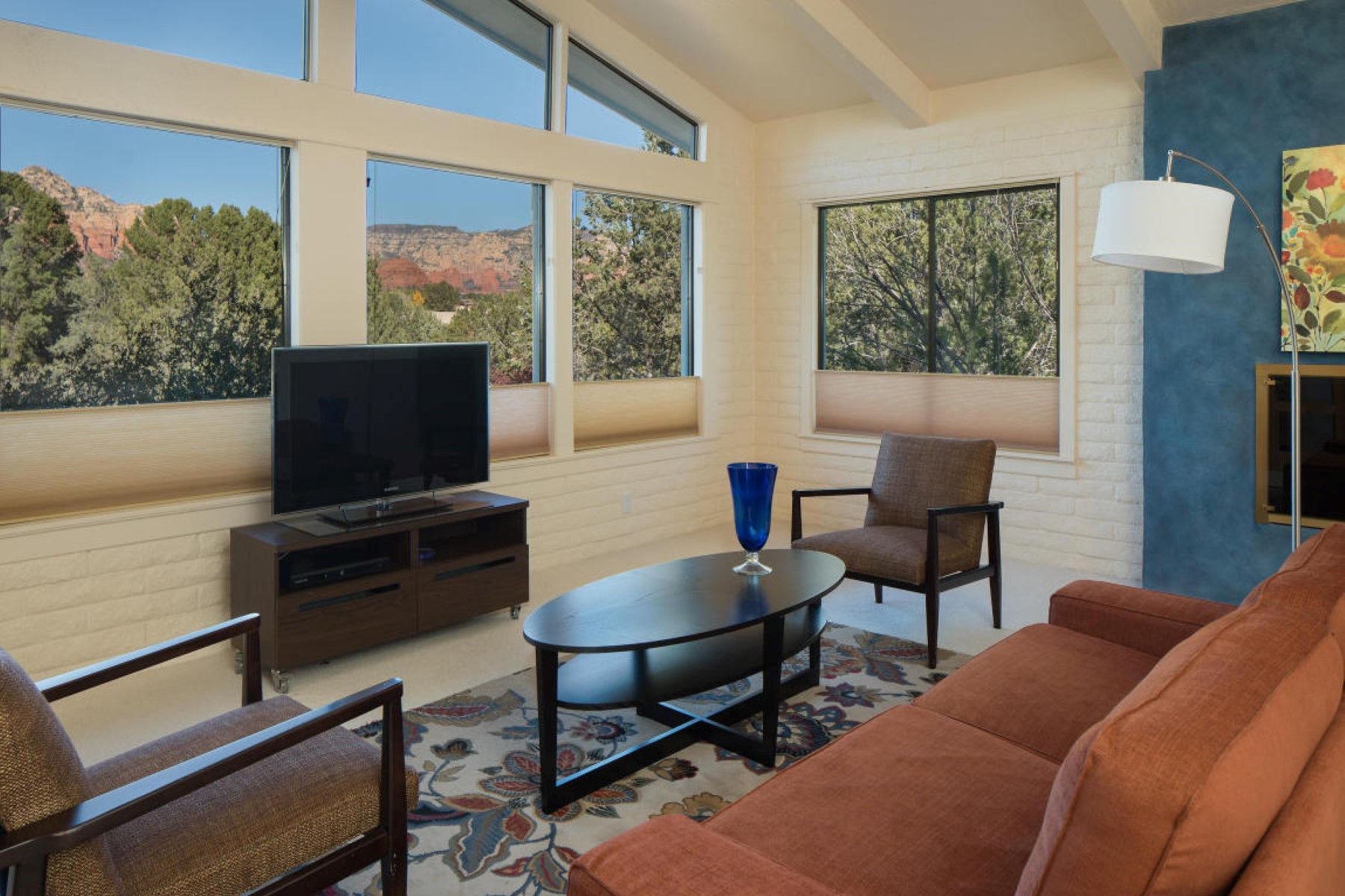 Single Family Home for Sale at Charming updated West Sedona home featuring red rock views 2700 Prairie Falcon Drive Sedona, Arizona, 86336 United States