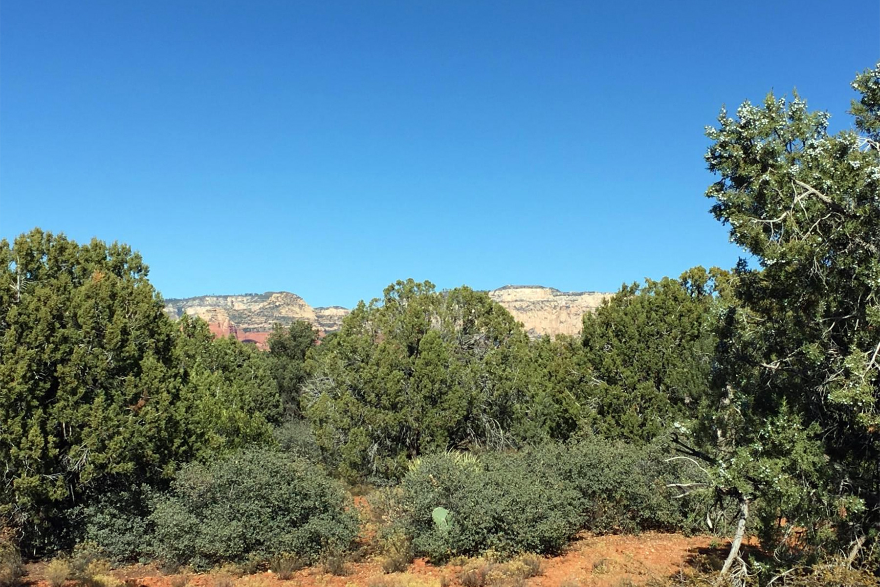 sales property at Level parcel in West Sedona along Dry Creek Road