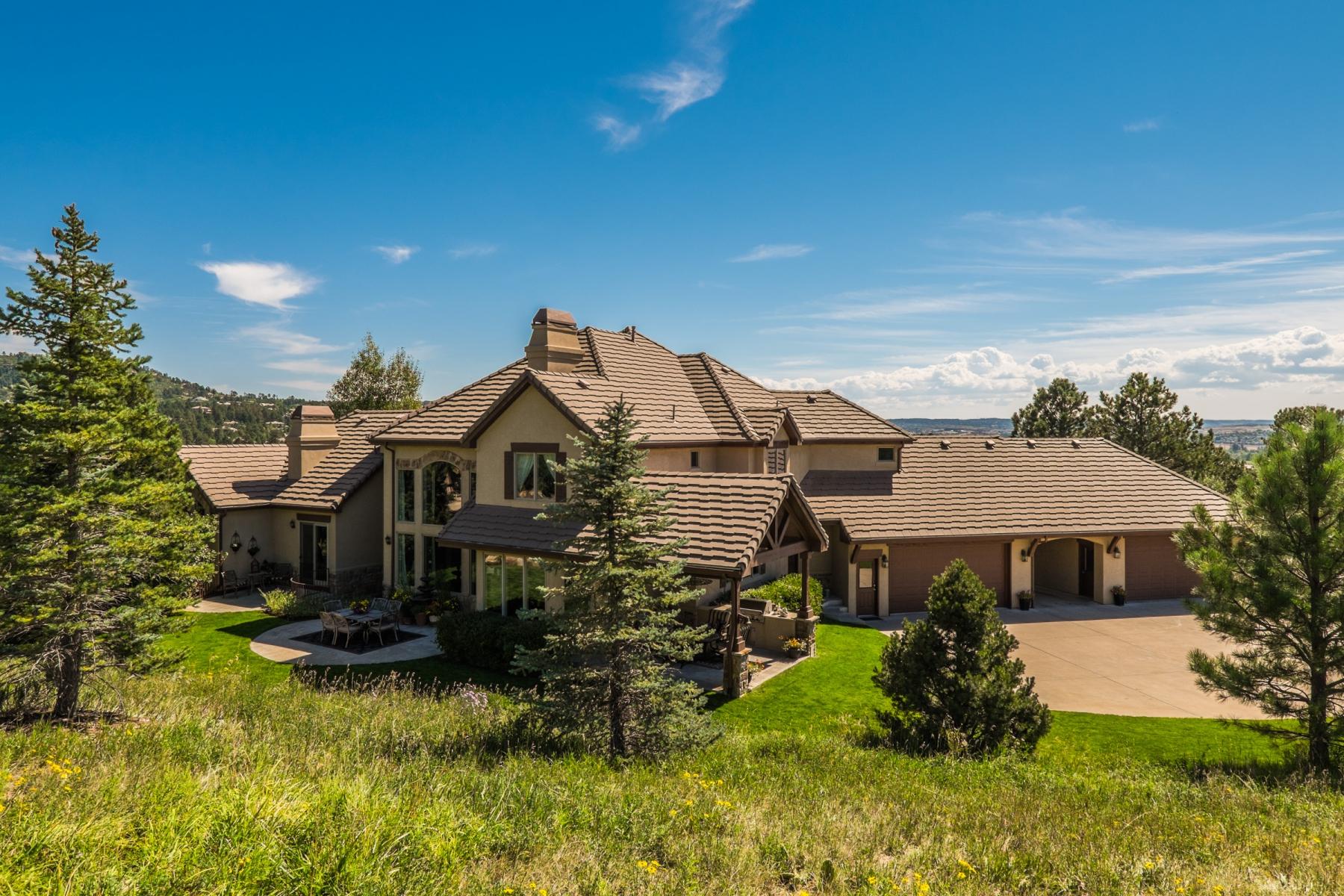 Single Family Home for Active at 1667 Macom Drive Sedalia, Colorado 80135 United States