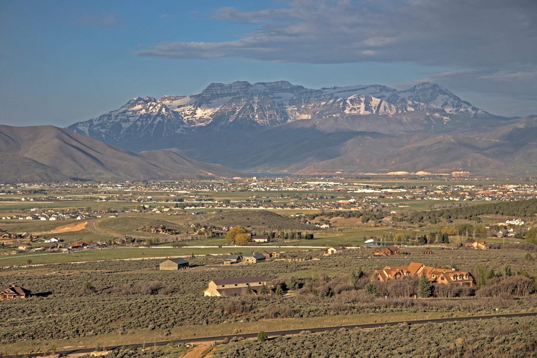 Terreno per Vendita alle ore King of the Hill 355 Greener Hills Ln Lot 38 Heber City, Utah 84032 Stati Uniti