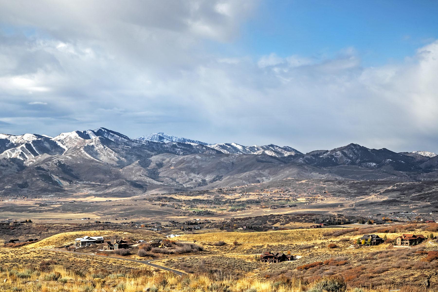 토지 용 매매 에 Big View Promontory Homesite 9504 Panorama Dr Lot 47 Park City, 유타, 84098 미국