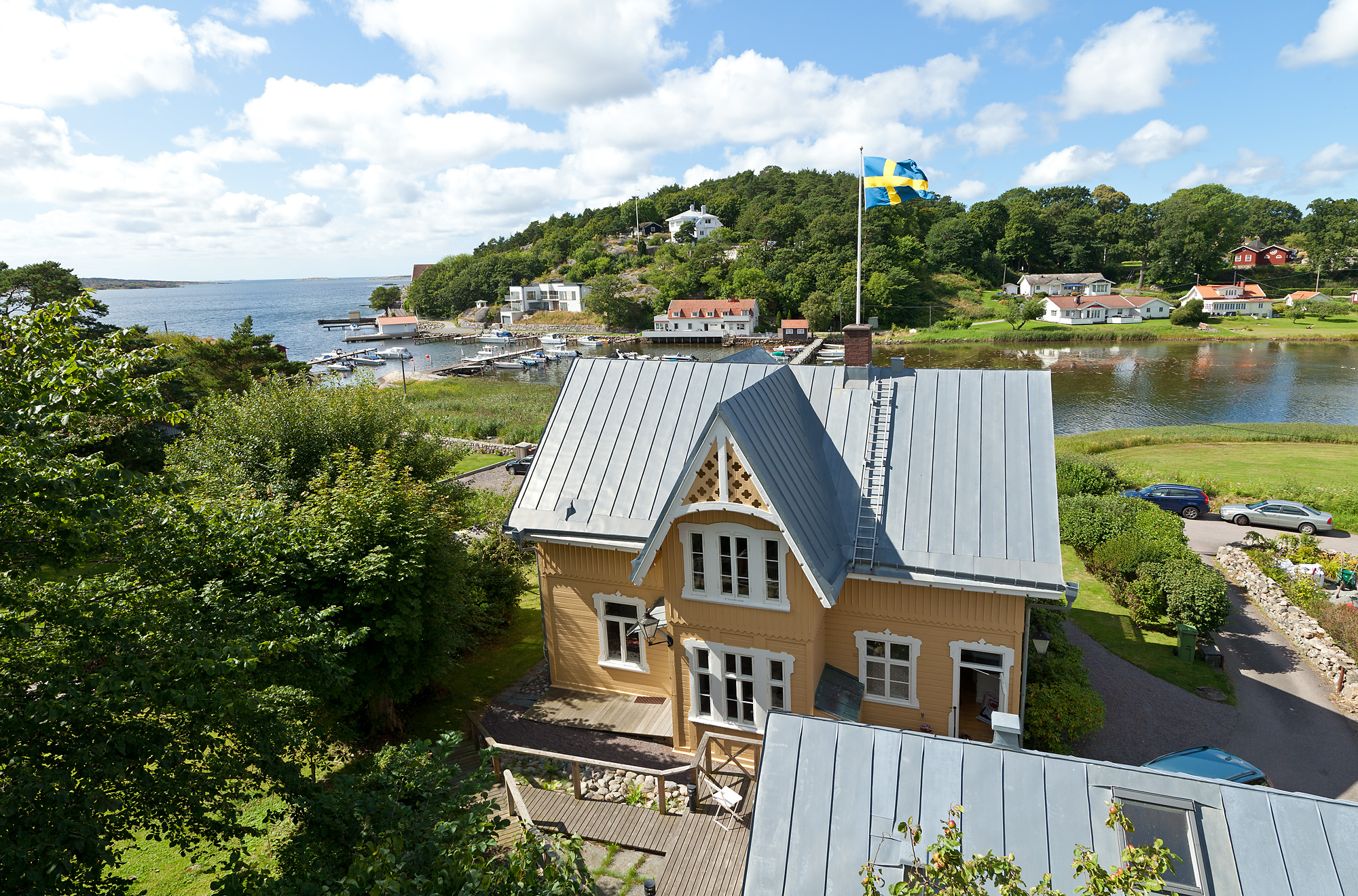 Single Family Home for Sale at Classic waterfront villa Other Vastra Gotaland, Vastra Gotaland Sweden