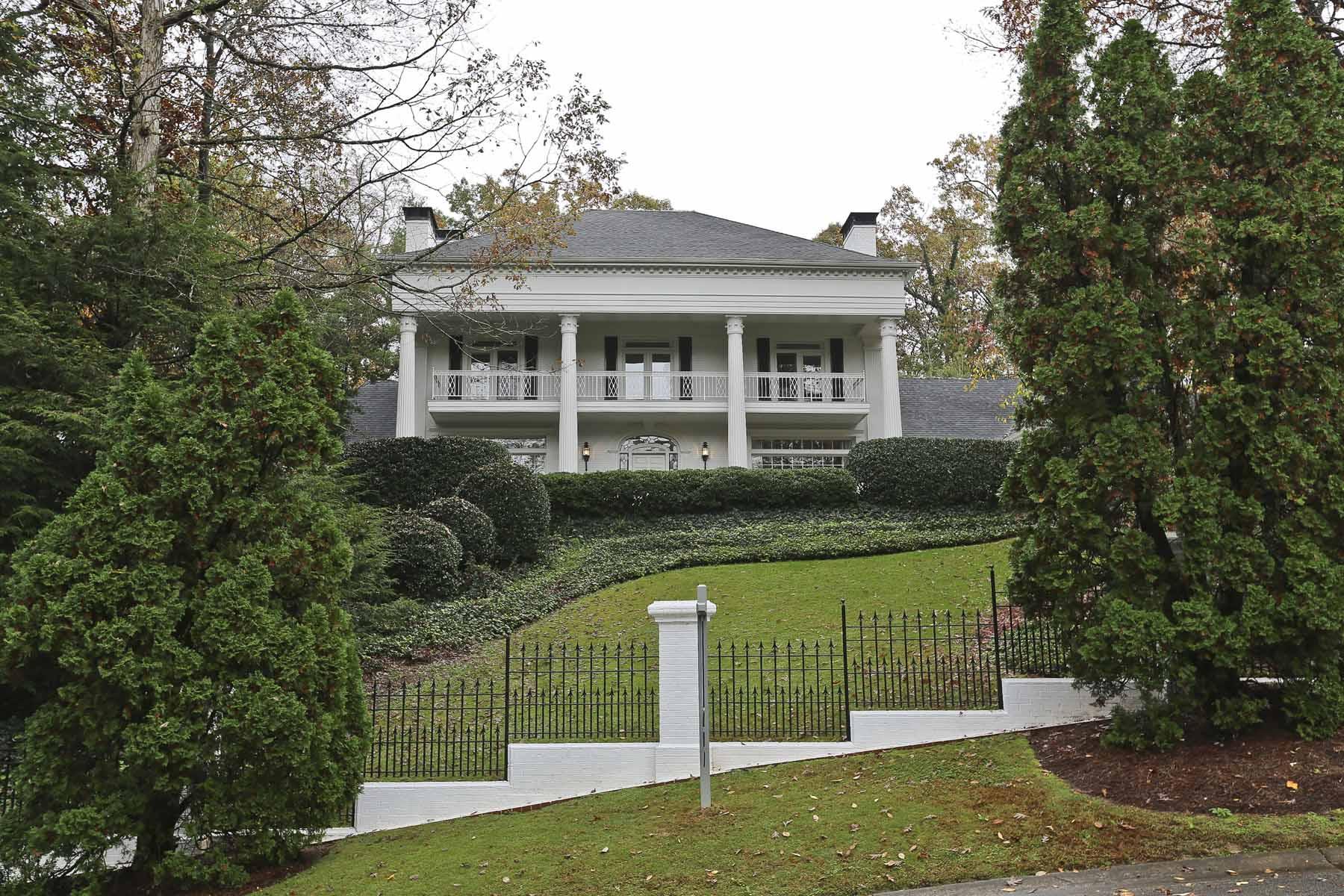 Casa para uma família para Venda às Paces Bend Court Estate 3225 Paces Bend Court Atlanta, Geórgia, 30327 Estados Unidos