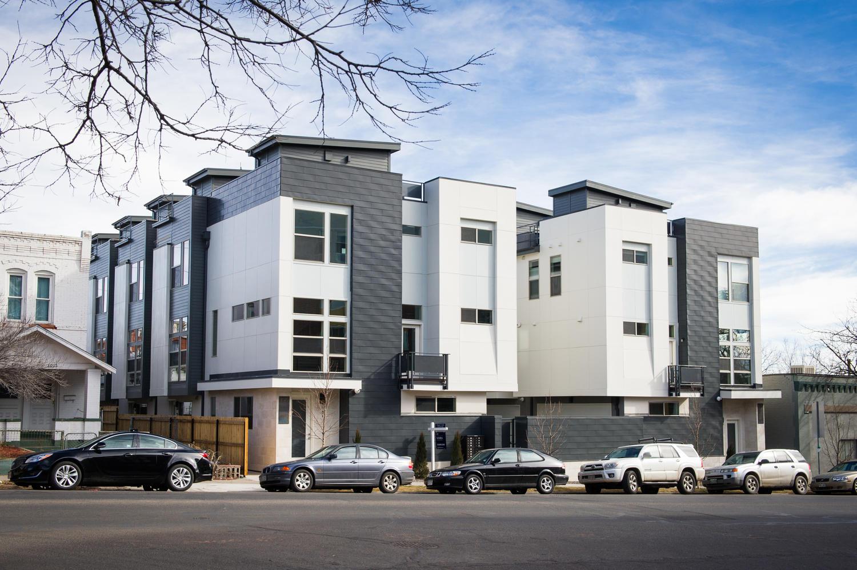 Casa unifamiliar adosada (Townhouse) por un Venta en 3020 Zuni Street #5 Denver, Colorado 80211 Estados Unidos