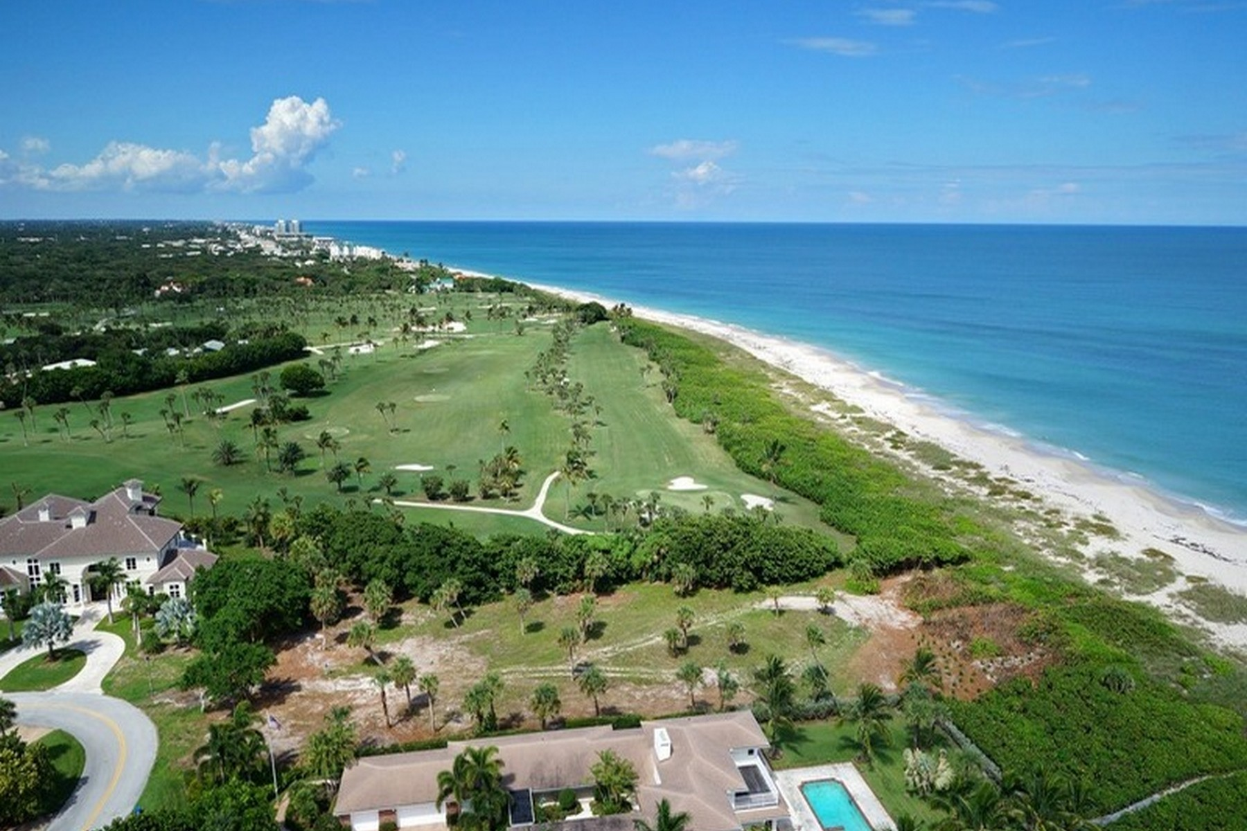 토지 용 매매 에 Oceanfront Golf Frontage in Riomar Point 1930 Ocean Drive Vero Beach, 플로리다, 32963 미국