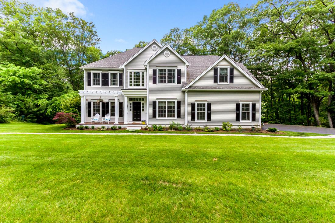 Single Family Home for Sale at Stately Young Colonial 128 Lumber Street Hopkinton, Massachusetts 01748 United States