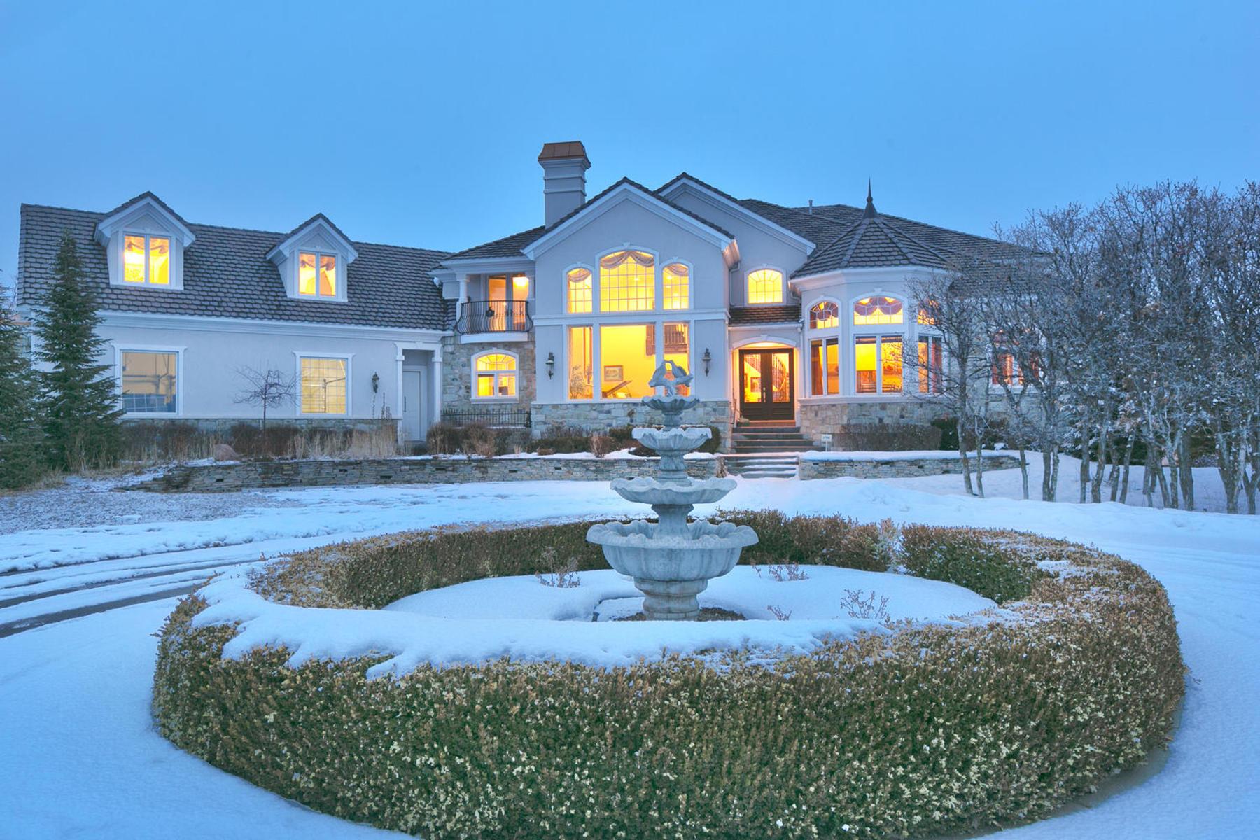 Maison unifamiliale pour l Vente à Delightful 7 acre estate in Exclusive, Secluded East Heber Location! 915 South 4800 East Heber, Utah 84032 États-Unis