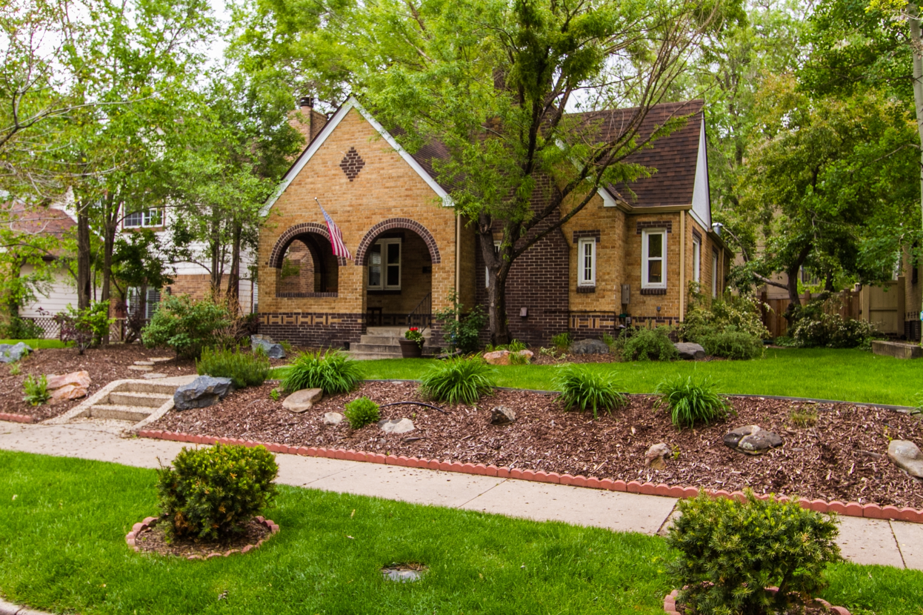 Property For Sale at Storybook tudor in the heart of East Wash Park!