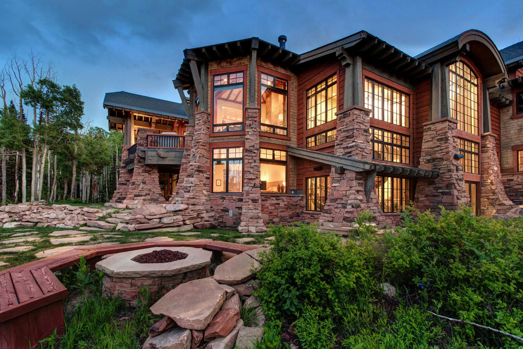 Casa Unifamiliar por un Venta en A View from the Top 141 White Pine Canyon Rd Park City, Utah 84098 Estados Unidos