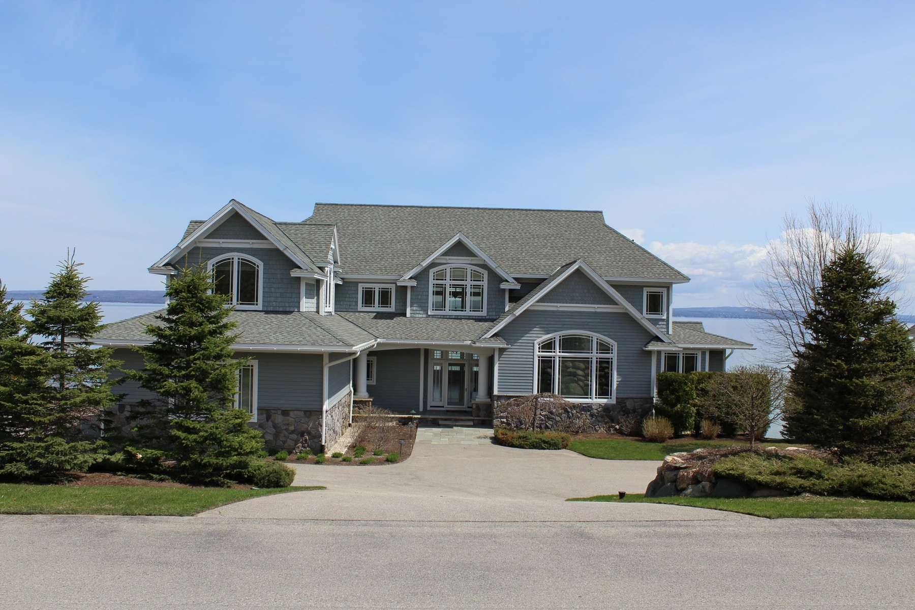 Single Family Home for Sale at Coastal Waterfront Home 5162 Coastal Drive Bay Harbor, Michigan 49770 United States