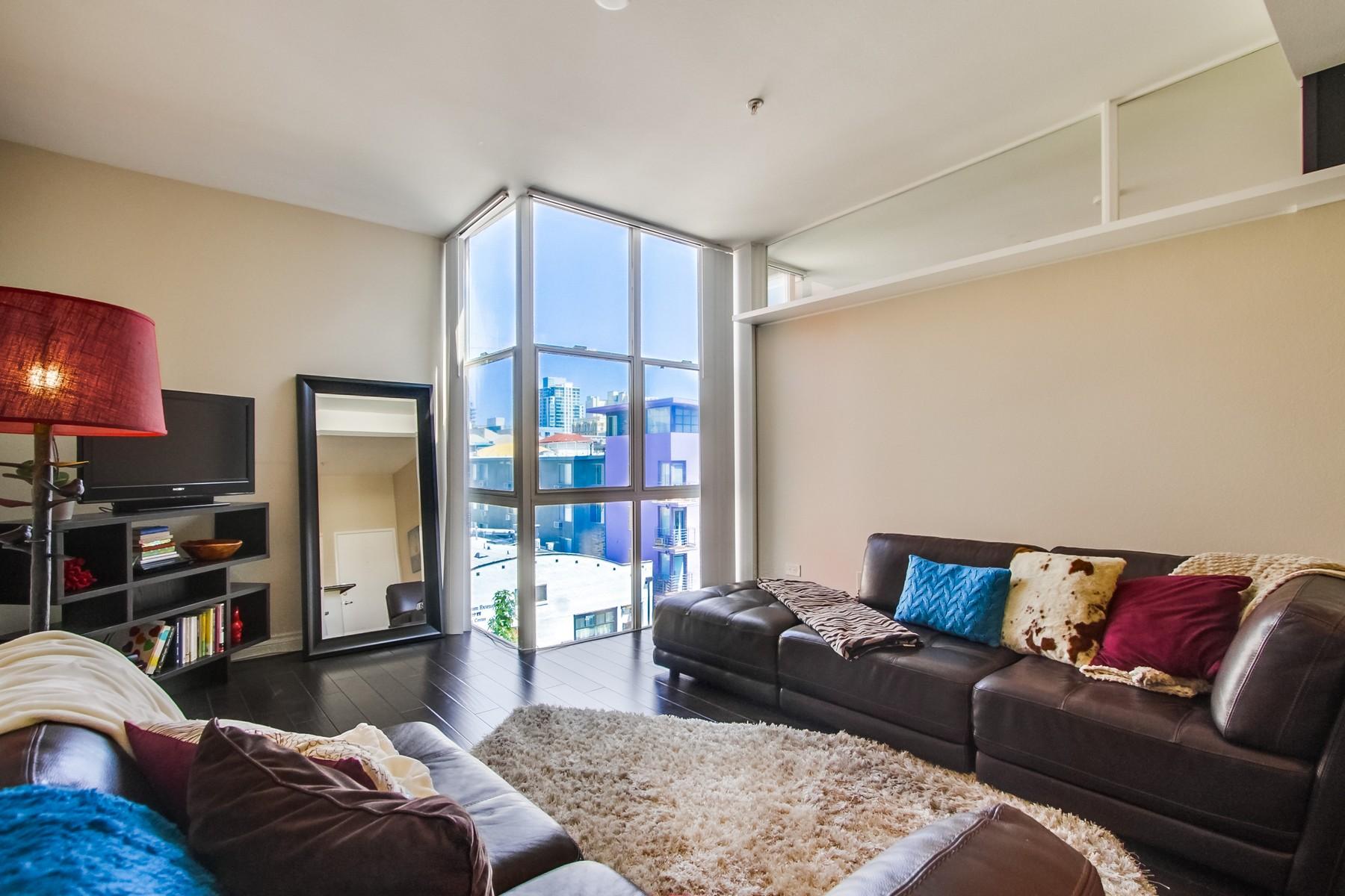 Appartement en copropriété pour l Vente à 101 Market Street, 410 San Diego, Californie 92101 États-Unis