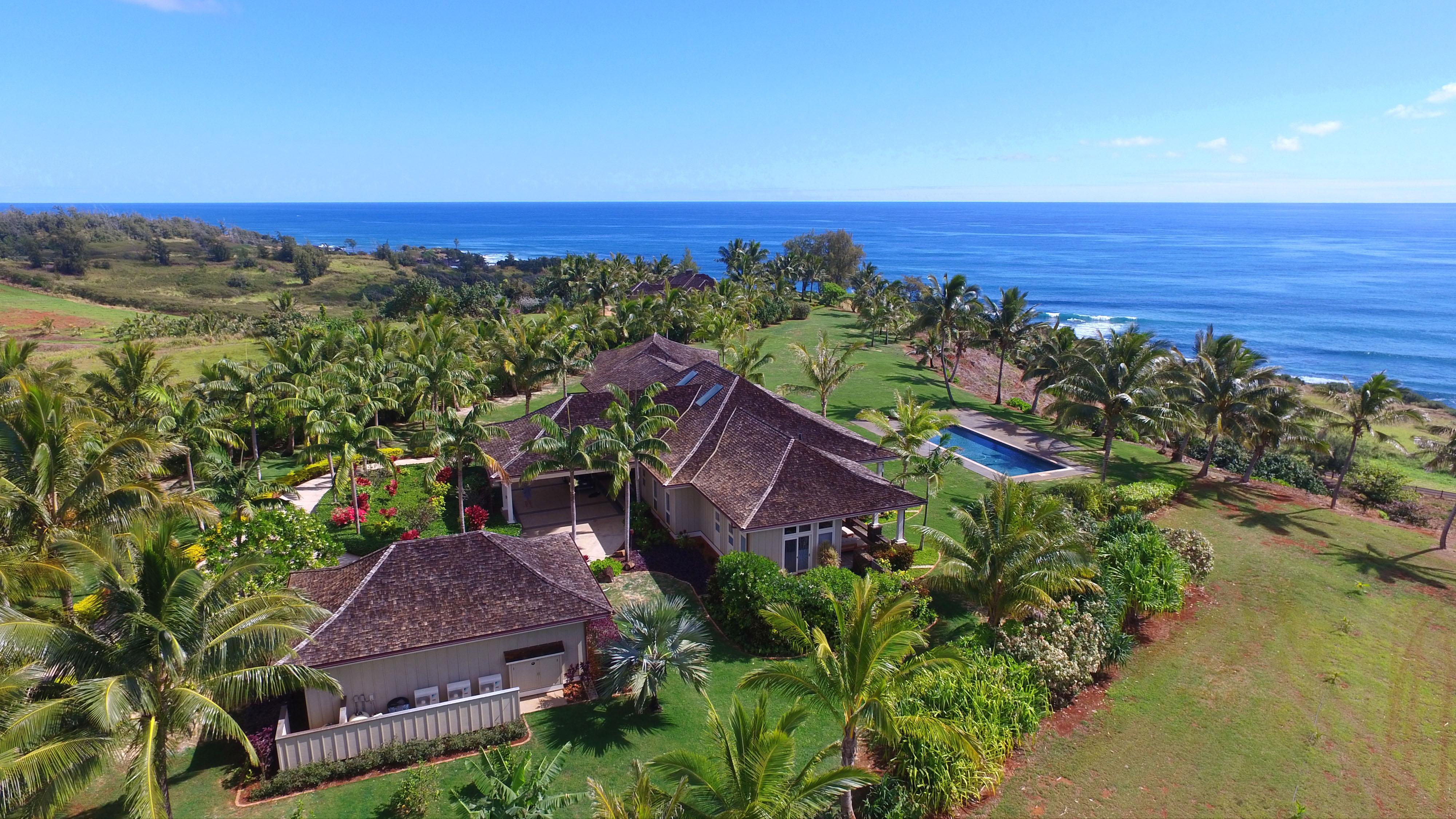 sales property at Kealia Kai Oceanfront Home
