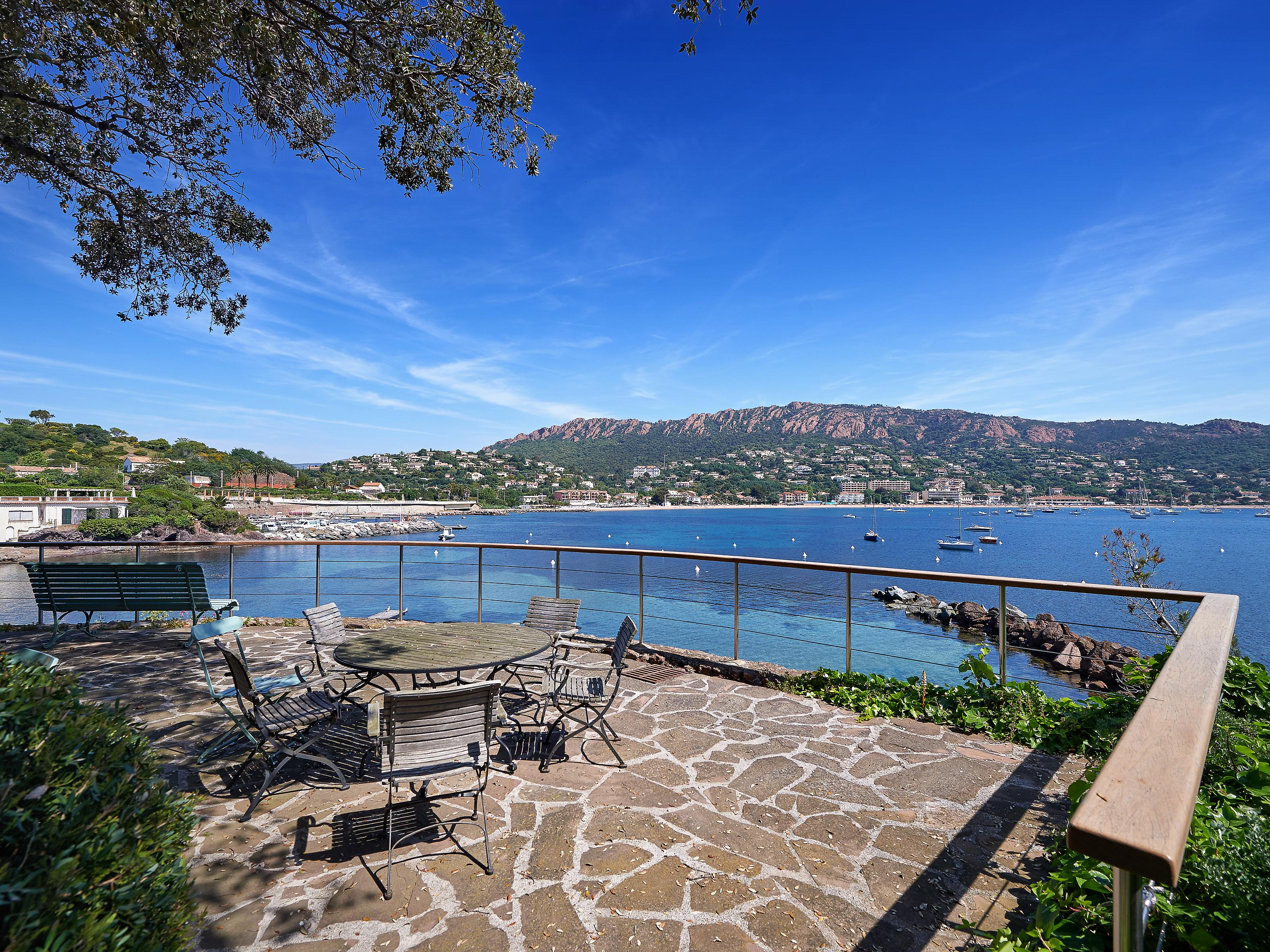 Property Of Agay – Sole Agents - Waterfront villa with Private Pier