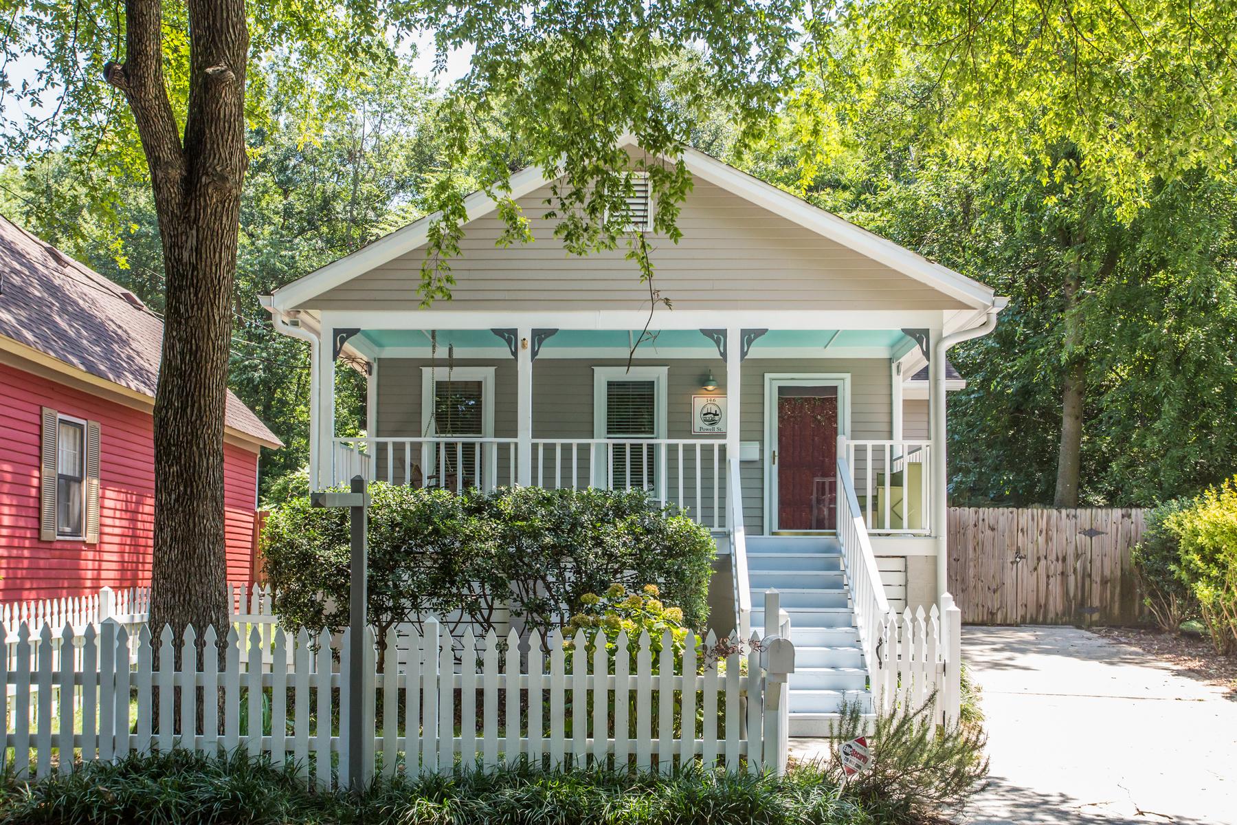 一戸建て のために 売買 アット Beautiful Bungalow in Historic Cabbagetown 146 Powell Street SE Atlanta, ジョージア, 30316 アメリカ合衆国