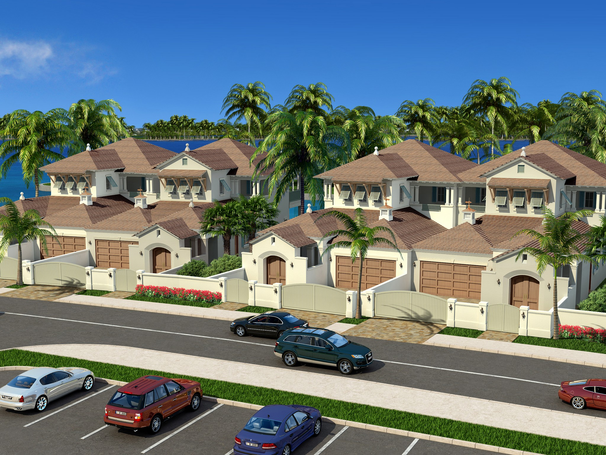 Property For Sale at Luxurious Riverfront Townhome on Royal Palm Pointe