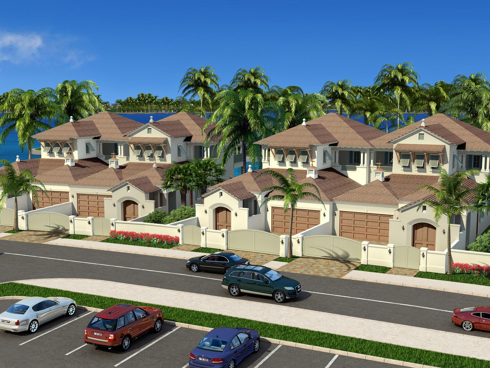 타운하우스 용 매매 에 Luxurious Riverfront Townhome on Royal Palm Pointe 21 Royal Palm Pointe #4 Vero Beach, 플로리다 32960 미국