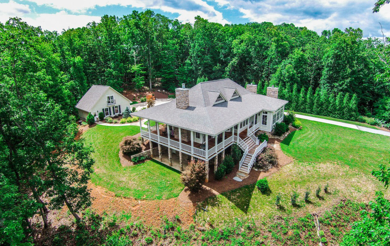 Single Family Home for Sale at Captivating Mountain Home 393 Springhill Drive Rutherfordton, North Carolina, 28139 United States