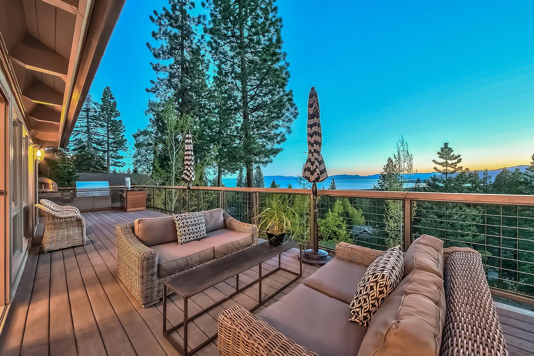 Частный односемейный дом для того Продажа на 435 Fairview Boulevard Incline Village, Невада, 89451 Соединенные Штаты