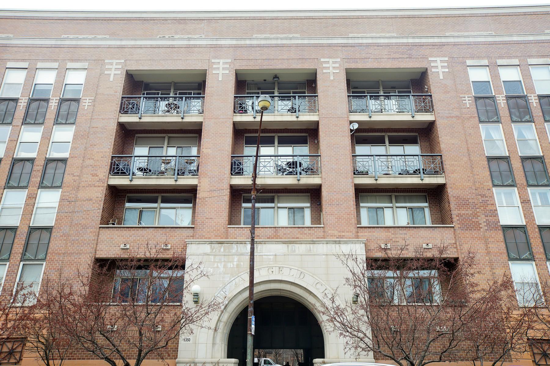 共管式独立产权公寓 为 销售 在 Corner Duplex Penthouse 1350 W Fullerton Avenue Unit 522 Lincoln Park, 芝加哥, 伊利诺斯州 60614 美国