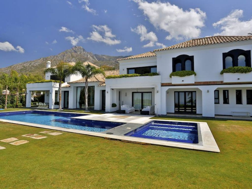 Single Family Home for Sale at Luxury brand new villa on the Golden Mile Sierra Blanca Other Andalucia, Andalucia, 29600 Spain