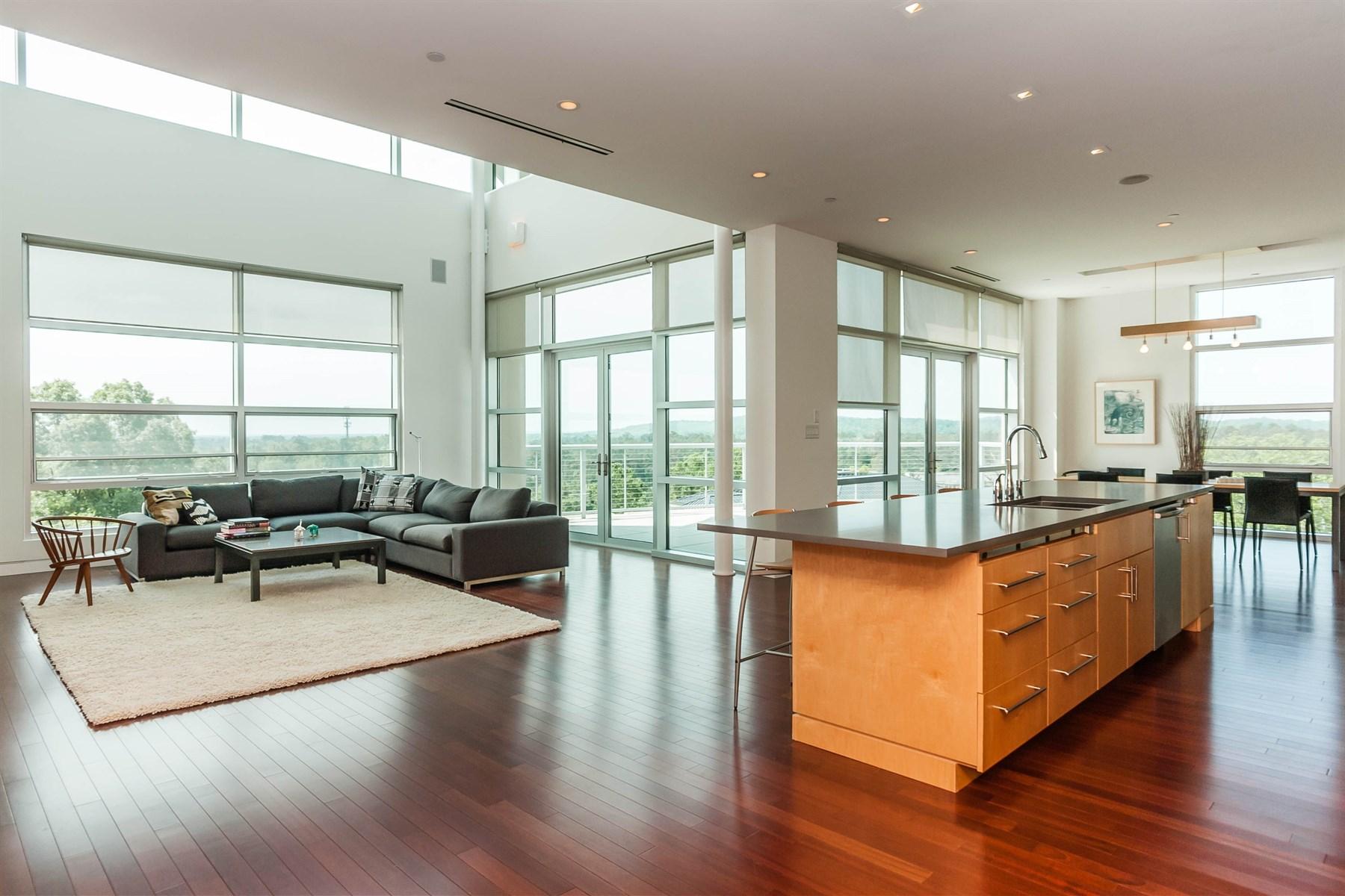 Condominium for Sale at Castalia Penthouse 331 W.Barbee Chapel Road Chapel Hill, North Carolina 27517 United States