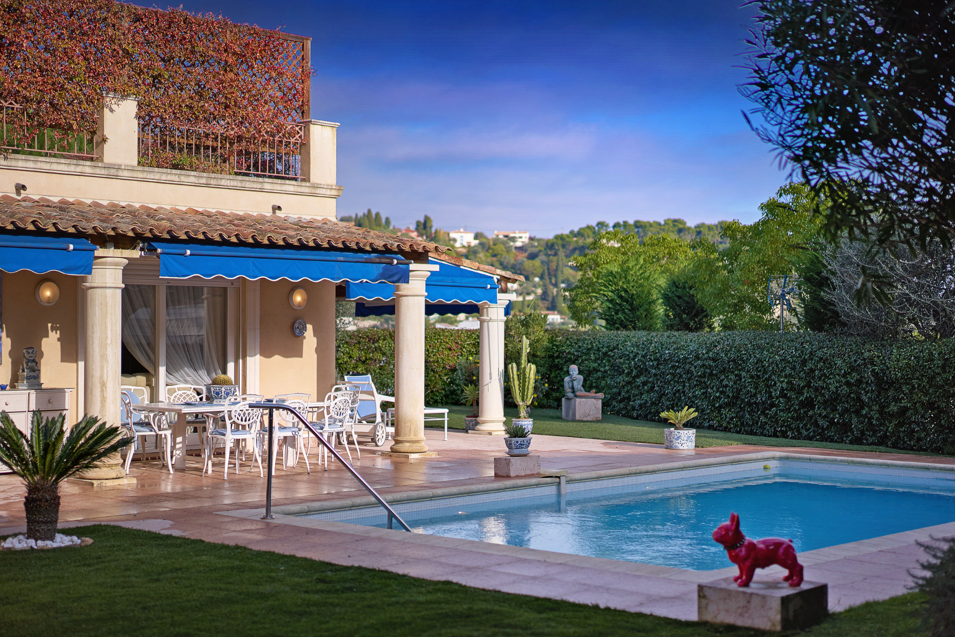Single Family Home for Sale at Lovely villa in a private domain Villefranche Villefranche, Provence-Alpes-Cote D'Azur 06230 France