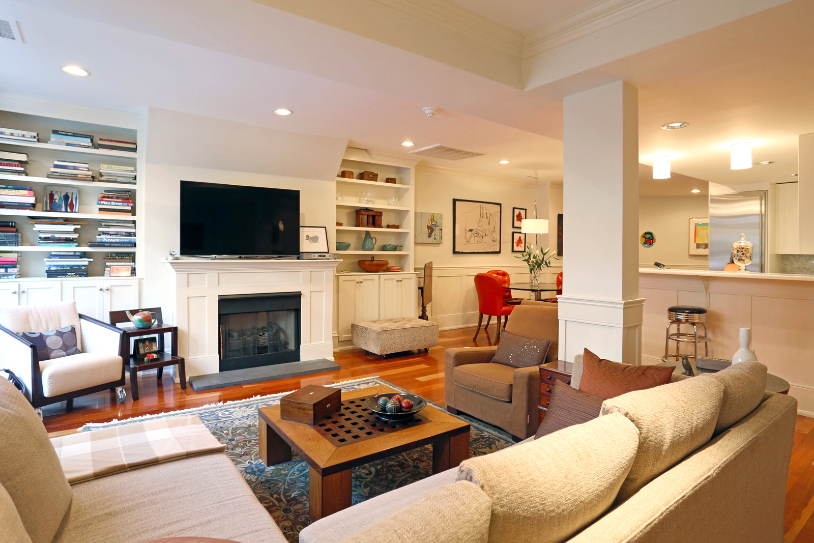 Condominium for Sale at Stunning garden duplex on desirable Waltham Street, steps from Ringgold Park. 83 Waltham St Unit 1 South End, Boston, Massachusetts, 02118 United States