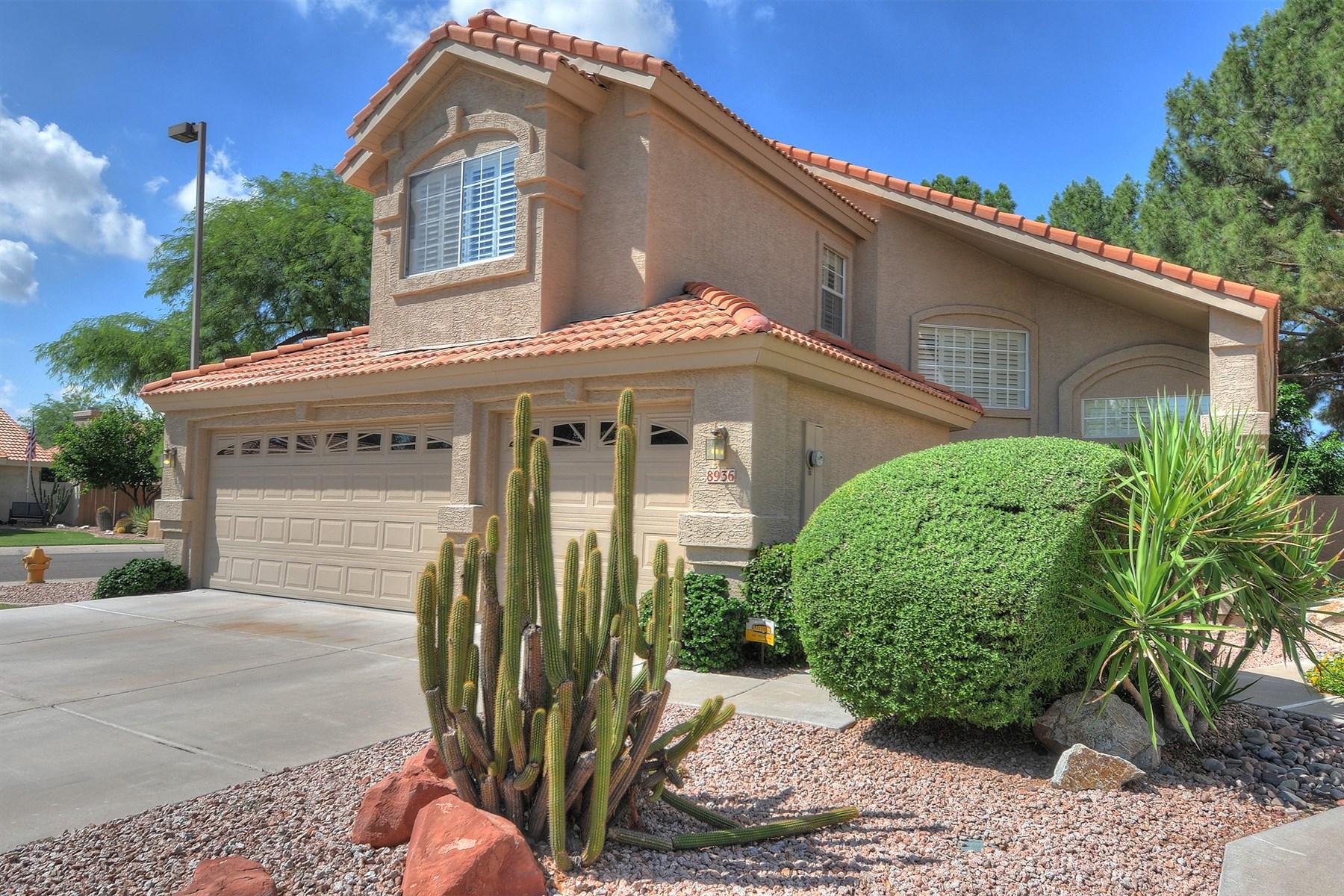 Nhà ở một gia đình vì Bán tại Meticulously Maintained Home On A Premium Corner Lot Backing To Greenbelt 8936 E Mescal Street Scottsdale, Arizona 85260 Hoa Kỳ